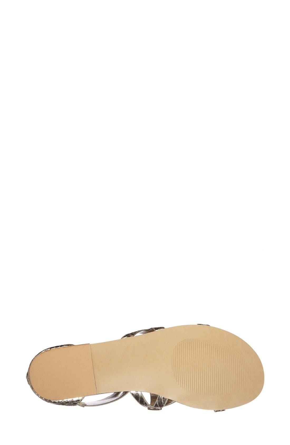 Alternate Image 4  - Steve Madden 'Comly' Gladiator Sandal (Women)
