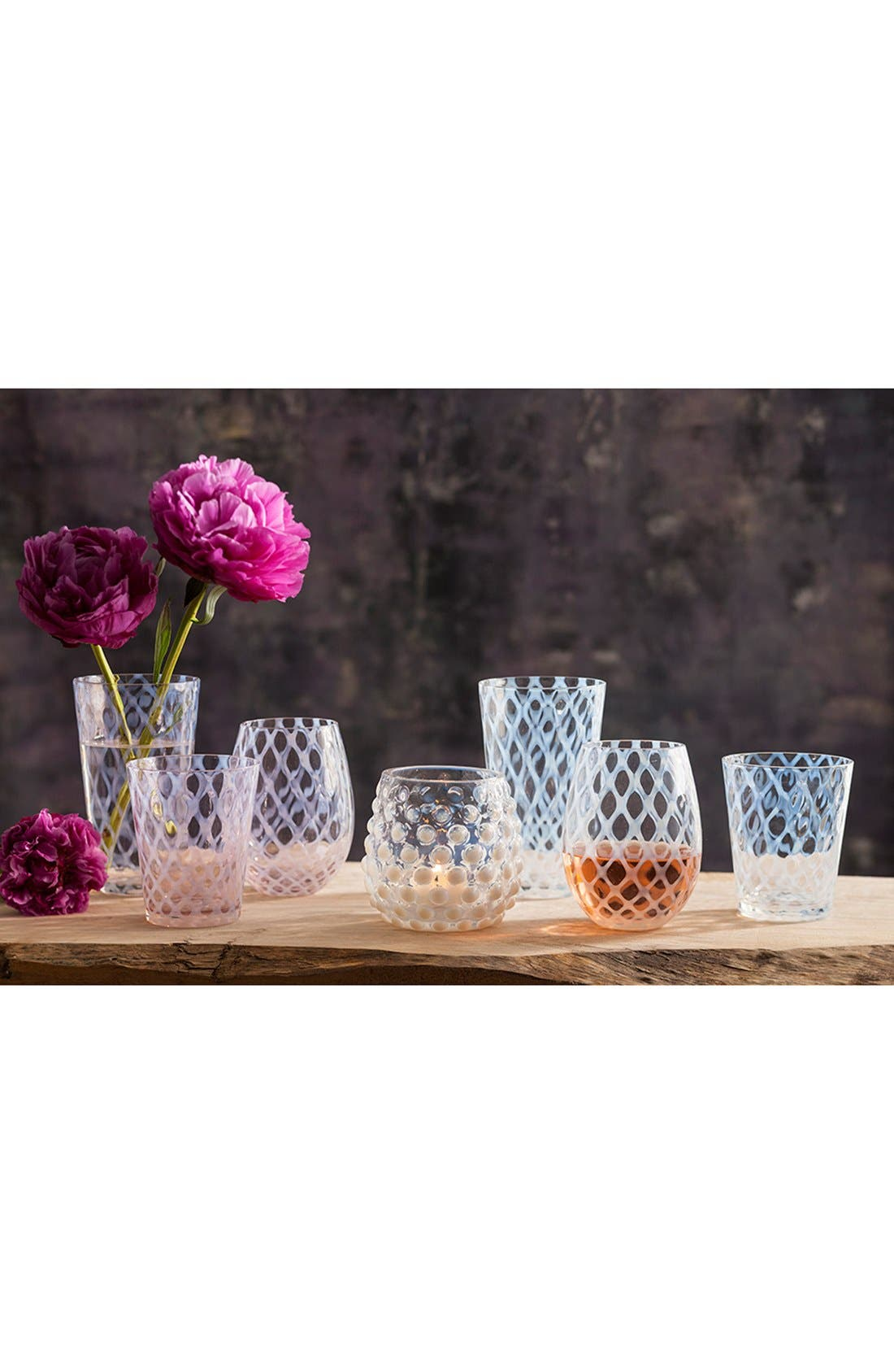 Alternate Image 2  - Rosanna 'Lattice' Stemless Wine Glasses (Set of 4)