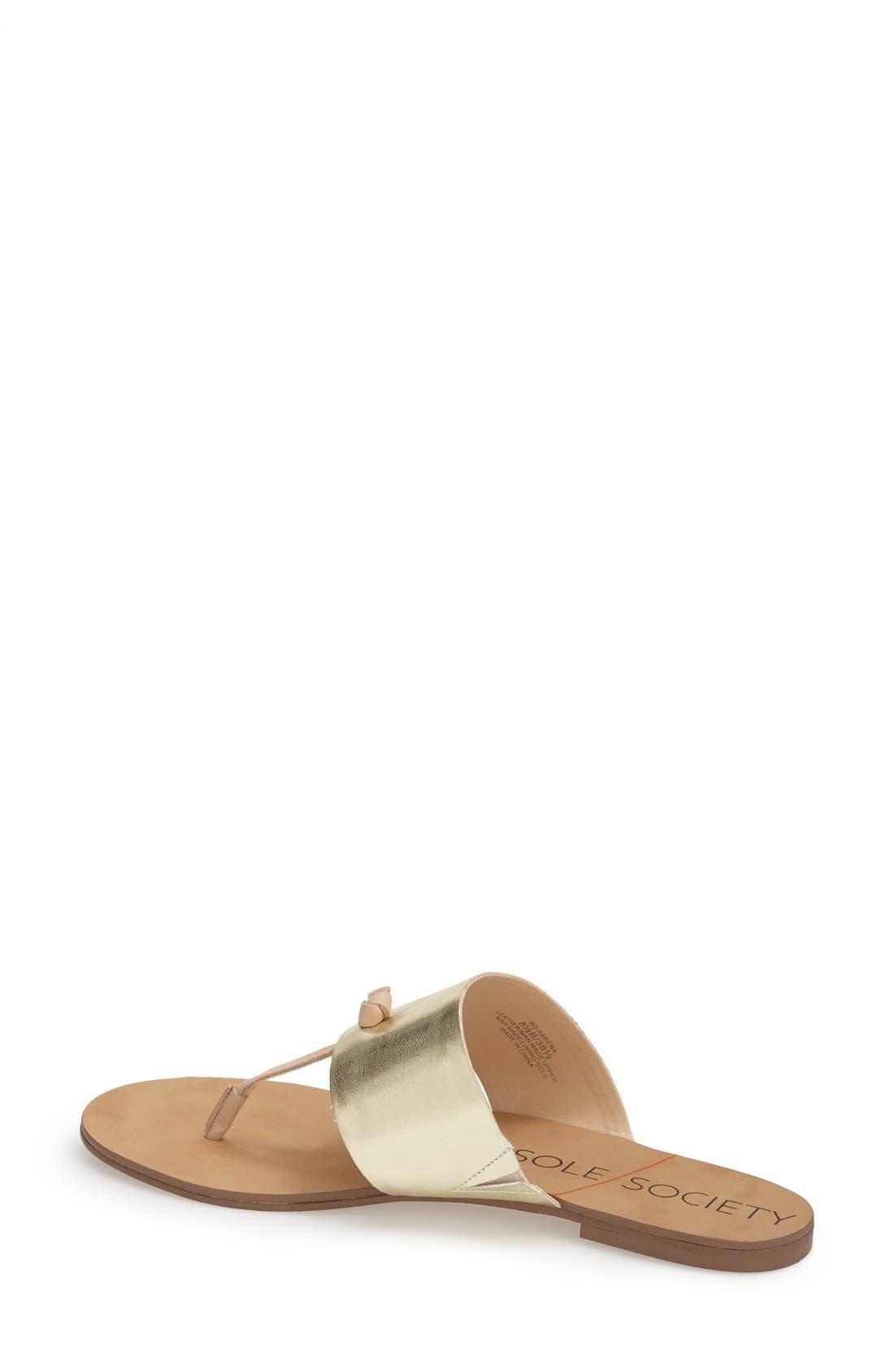 Alternate Image 2  - Sole Society 'Sarena' Thong Sandal (Women)