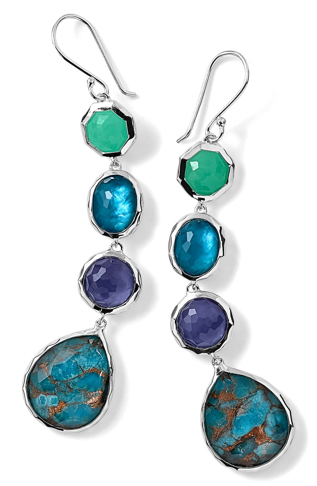 Alternate Image 1 Selected - Ippolita 4-Stone Drop Earrings (Nordstrom Exclusive)