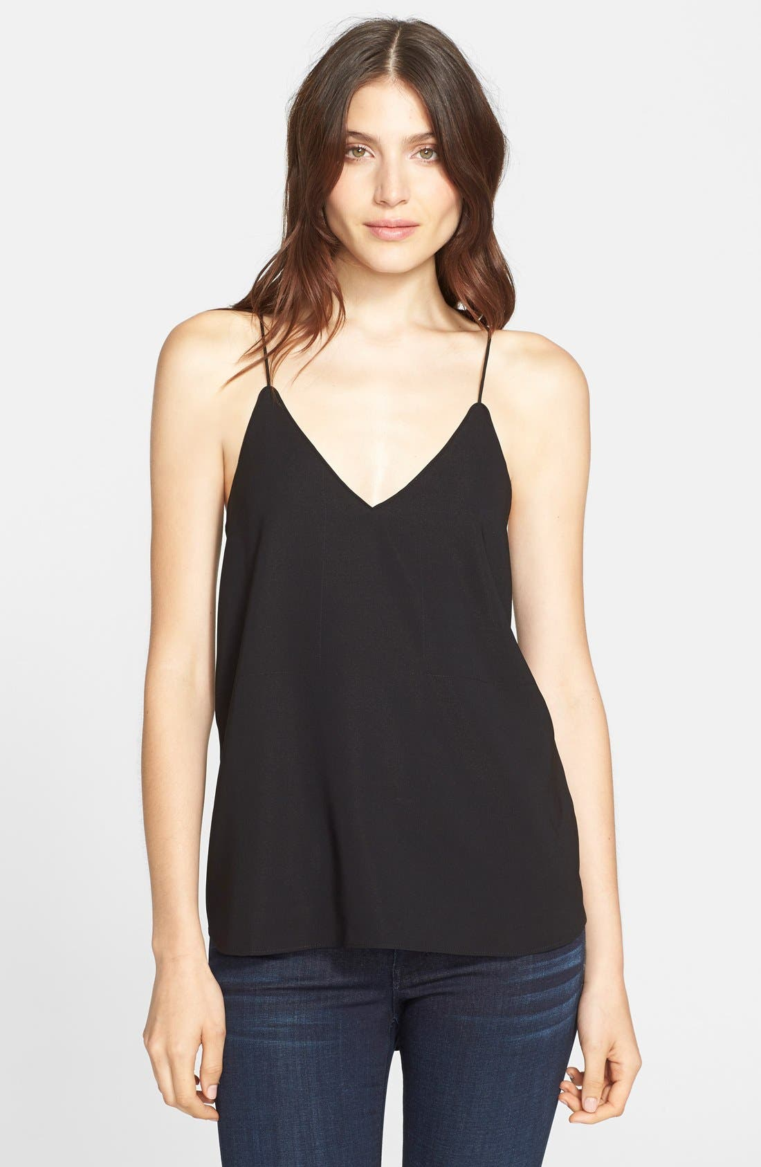 AYR 'The Slim' Silk Blend Camisole