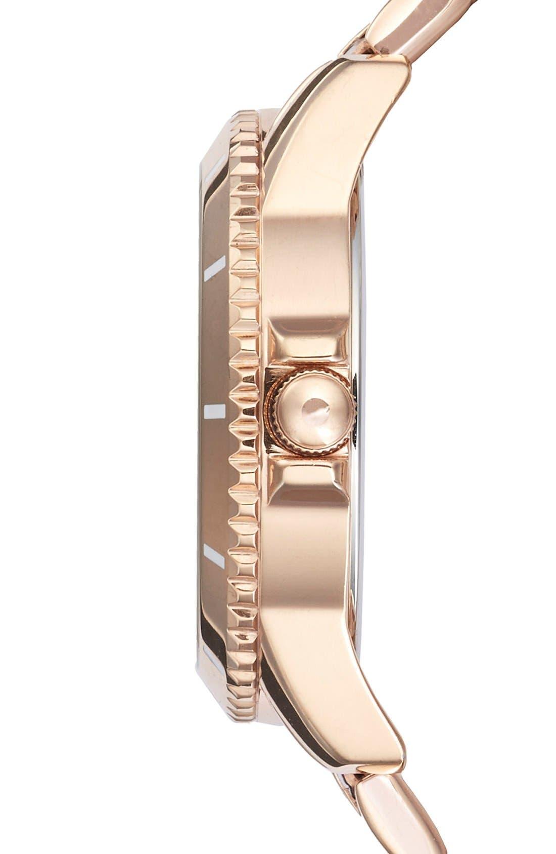 Alternate Image 3  - Tommy Hilfiger Multifunction Bracelet Watch, 38mm