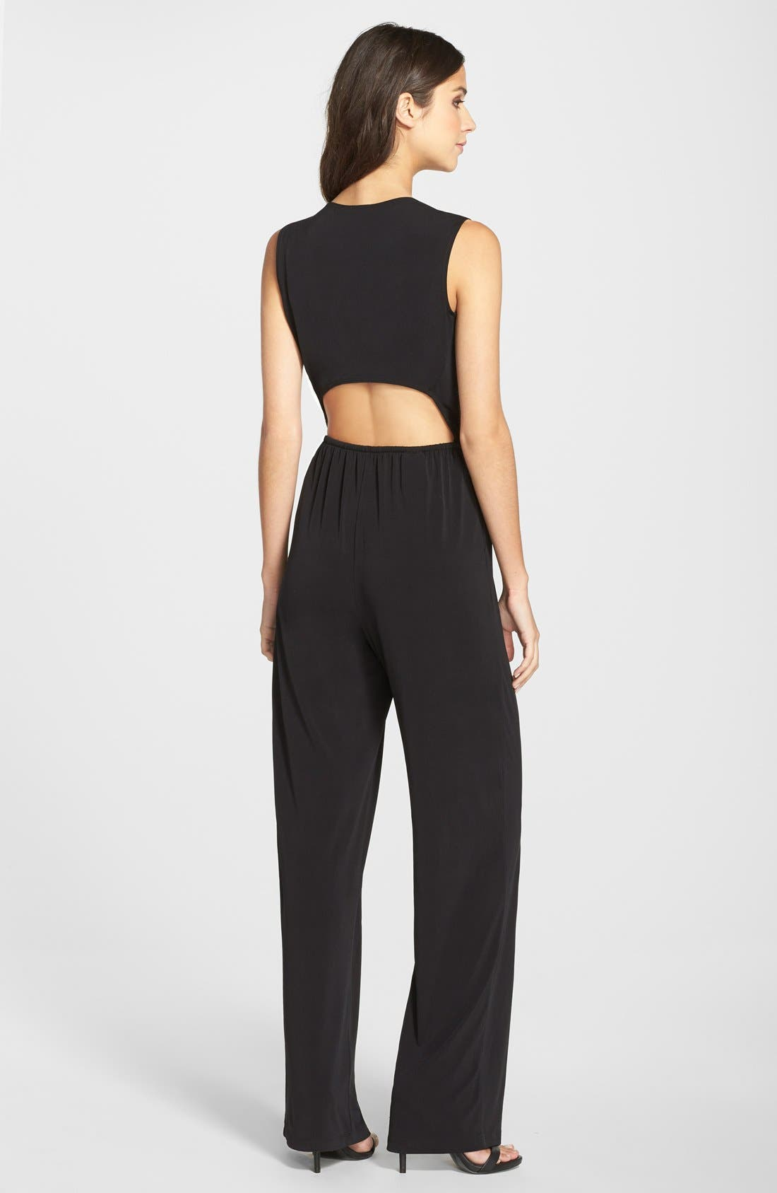 Alternate Image 2  - BCBGeneration Open Back Jumpsuit
