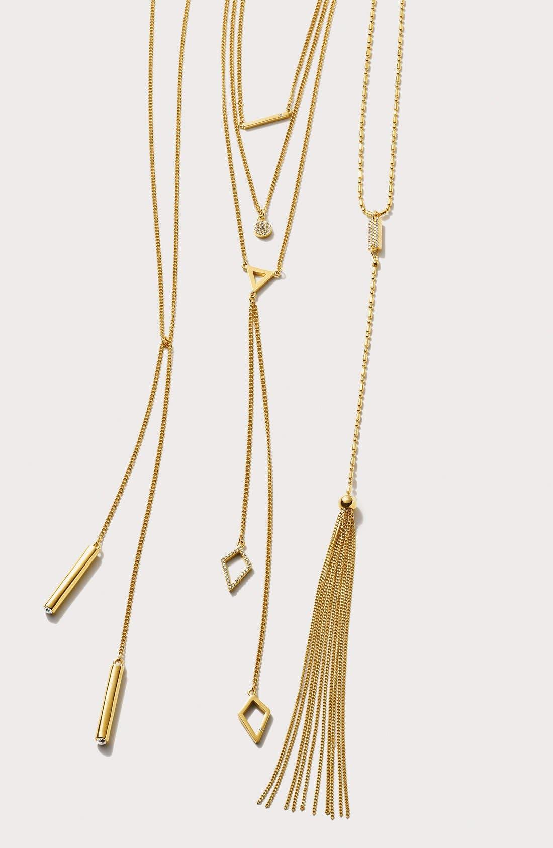 Alternate Image 5  - BaubleBar 'Facets' Layered Necklace