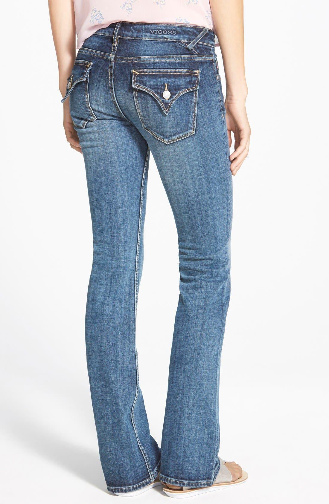 Alternate Image 2  - Vigoss 'NY' Bootcut Jeans (Dark Wash)