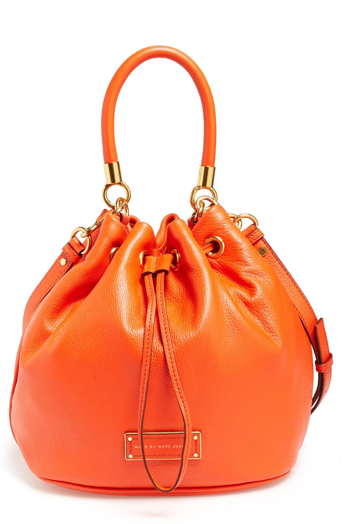 Alternate Image 1 Selected - MARC BY MARC JACOBS 'Too Hot to Handle' Leather Bucket Bag