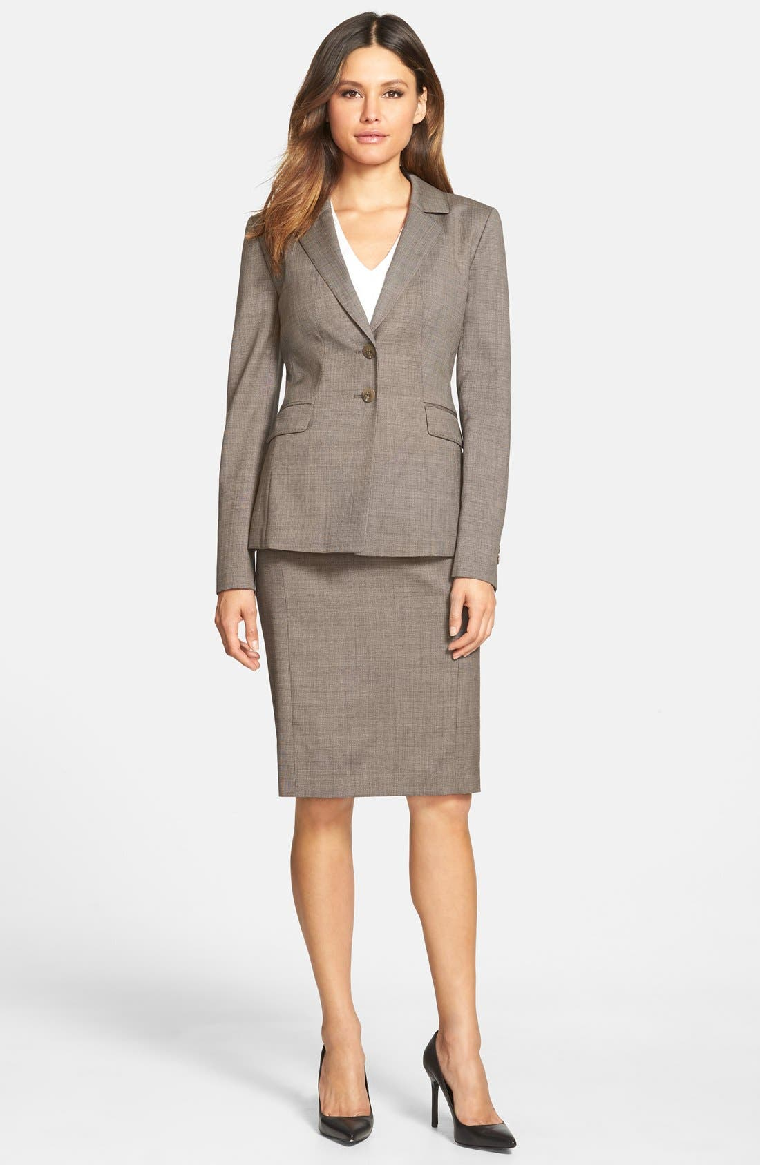 Alternate Image 4  - Classiques Entier® 'Highland' Wool Suiting Jacket (Regular & Petite)