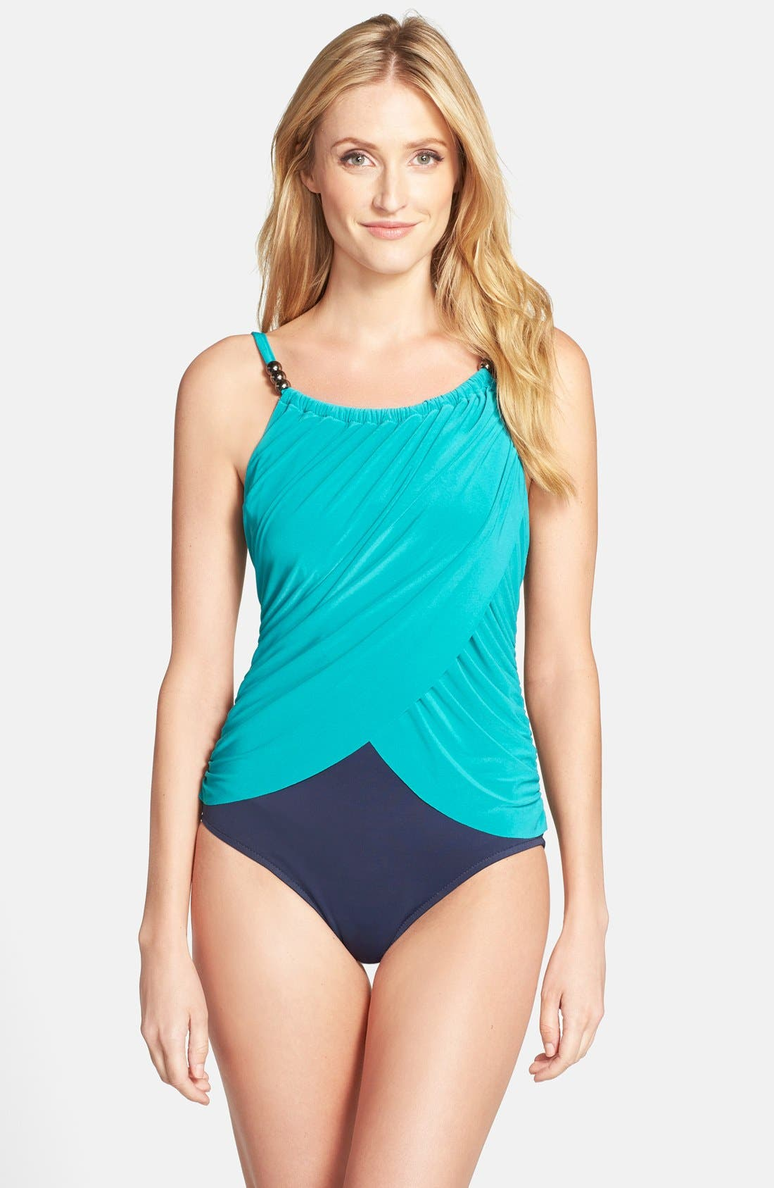 Alternate Image 1 Selected - Magic Suit by Miraclesuit® 'Lisa' One-Piece Swimsuit