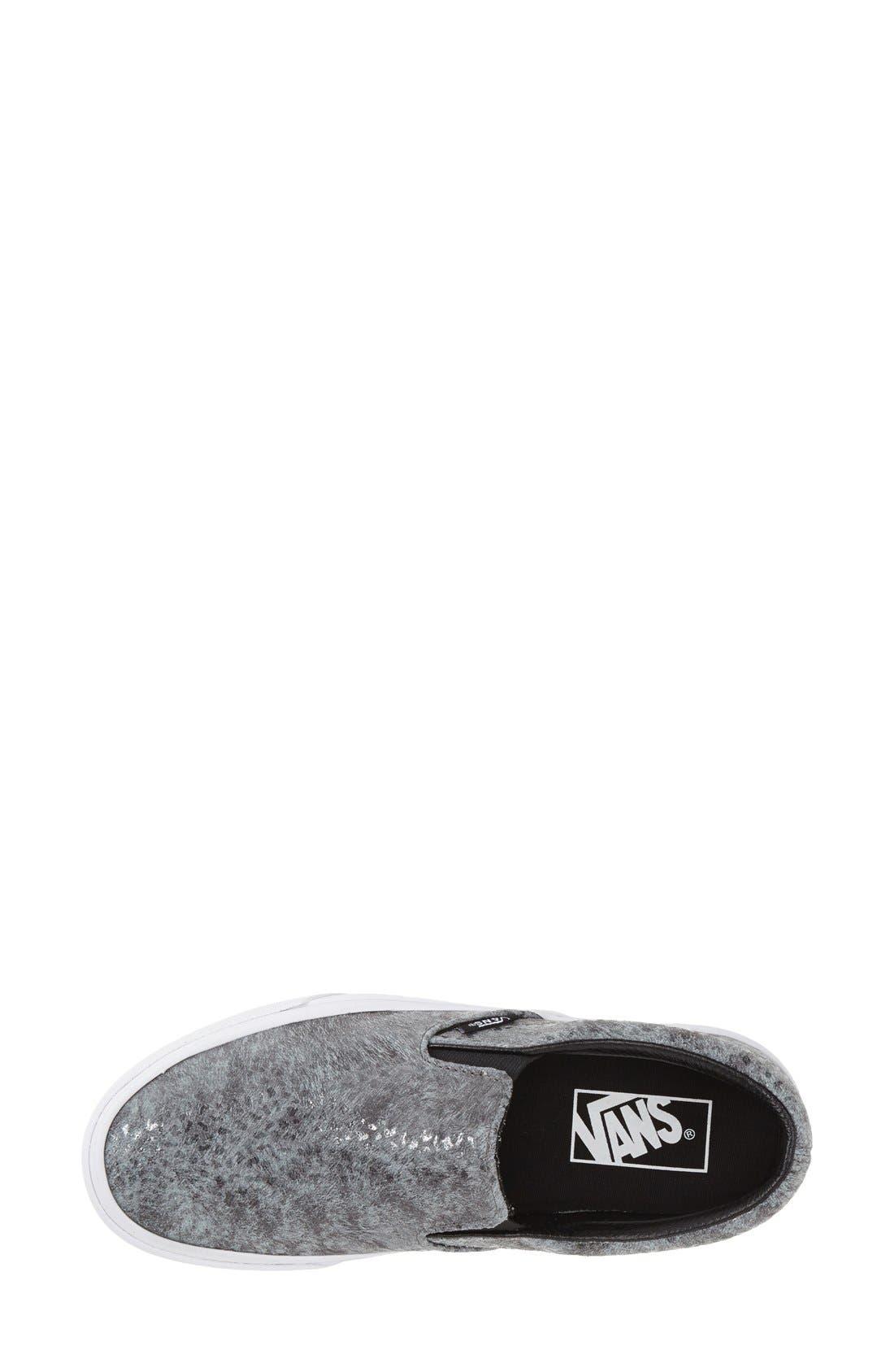 Alternate Image 3  - Vans 'Classic - Pebble Snake' Slip-On Sneaker (Women)