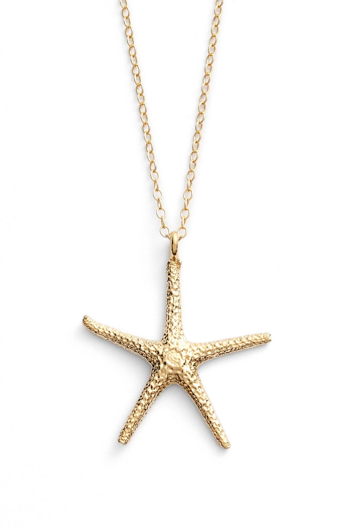Alternate Image 1 Selected - ki-ele Large Hawaiian Starfish Pendant Necklace