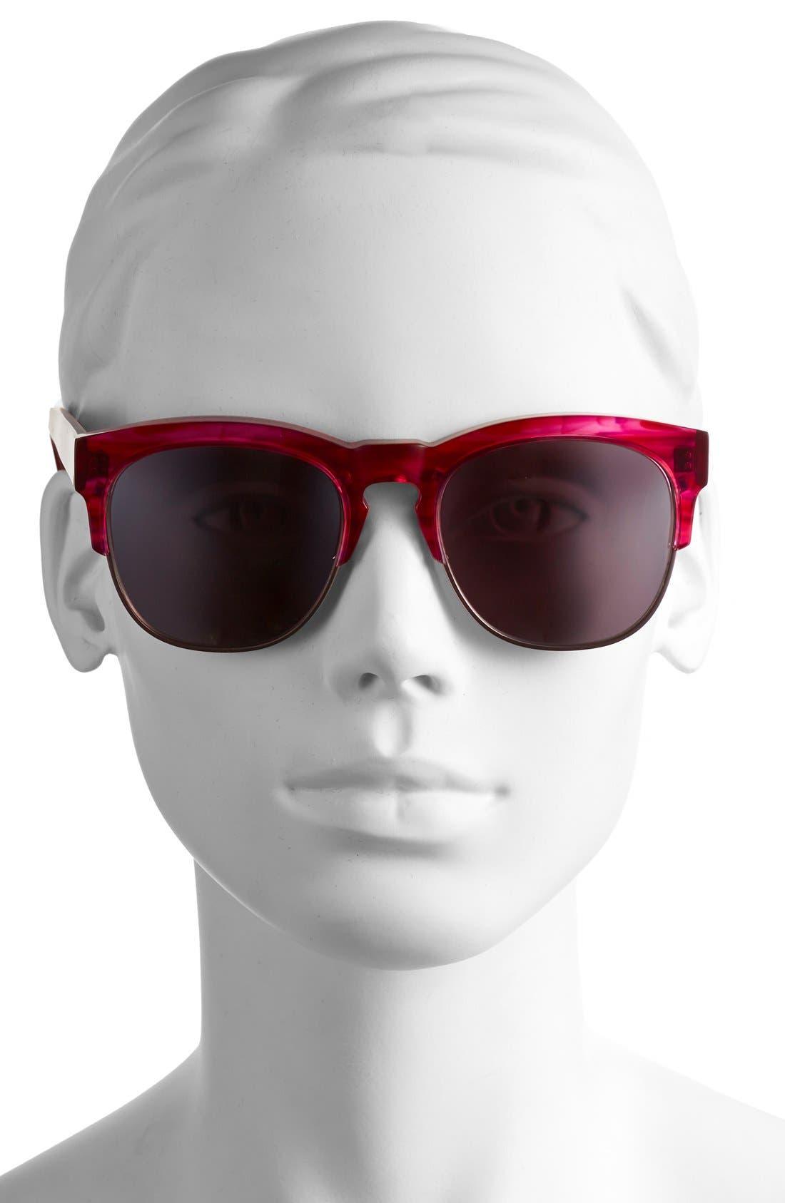 Alternate Image 2  - Wildfox 'Club Fox Deluxe' 52mm Sunglasses