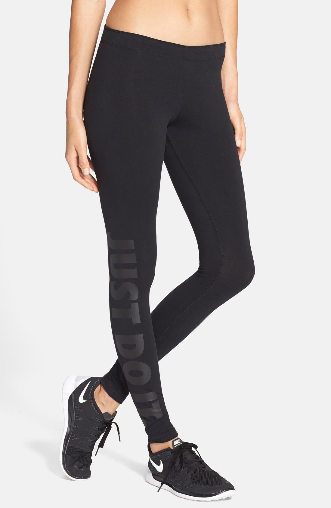 Alternate Image 1 Selected - Nike 'Leg-A-See' Leggings