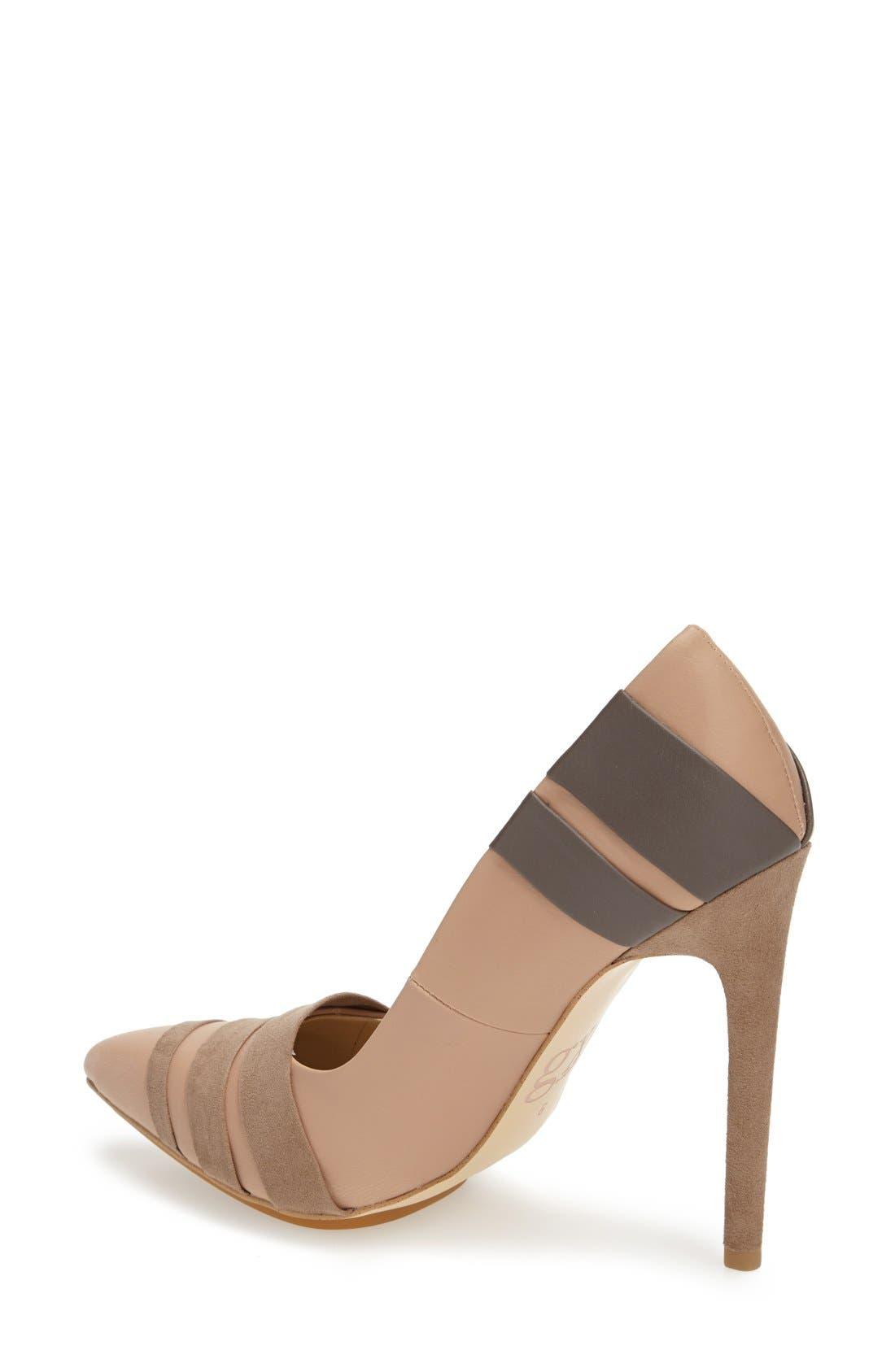 Alternate Image 2  - gx by Gwen Stefani 'Cage' Pointy Toe Pump (Women)