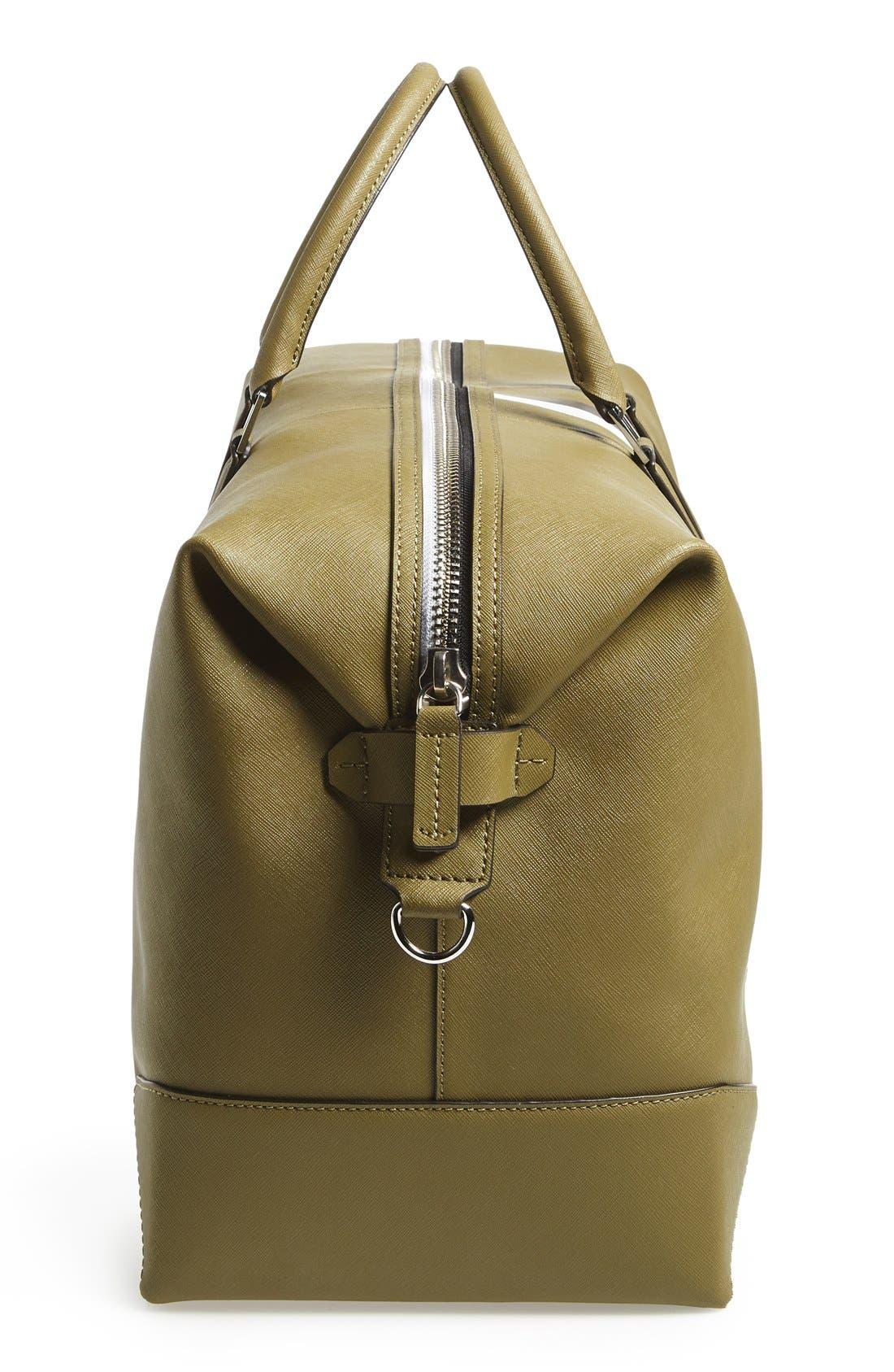 Alternate Image 5  - Ben Minkoff 'Wythe' Weekend Size Saffiano Leather Duffel Bag