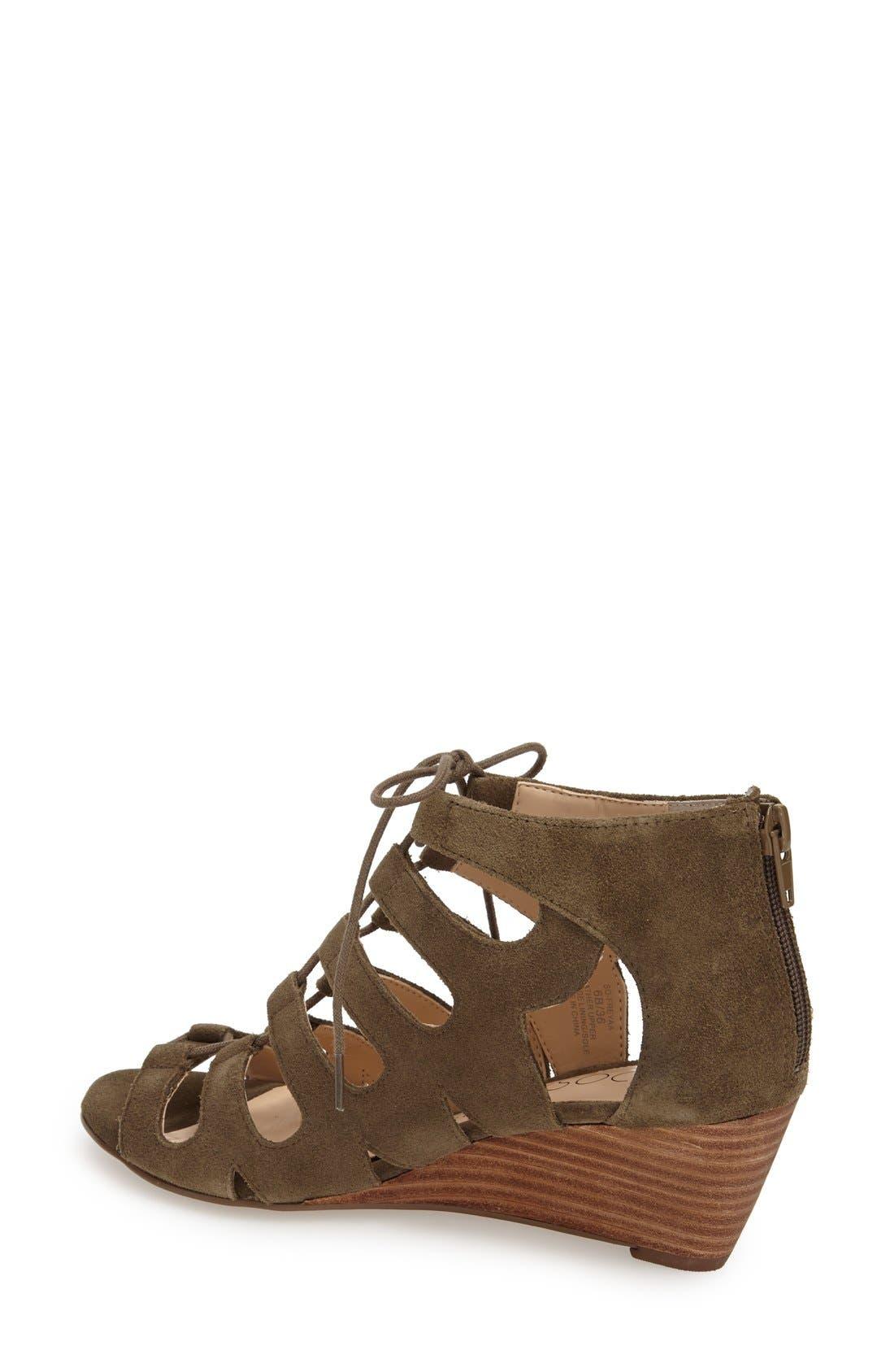Alternate Image 2  - Sole Society 'Freyaa' Wedge Sandal (Women)