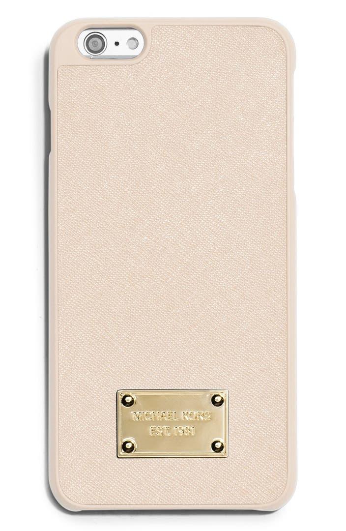 Michael michael kors saffiano leather iphone 6 plus 6s for Housse iphone 6 michael kors