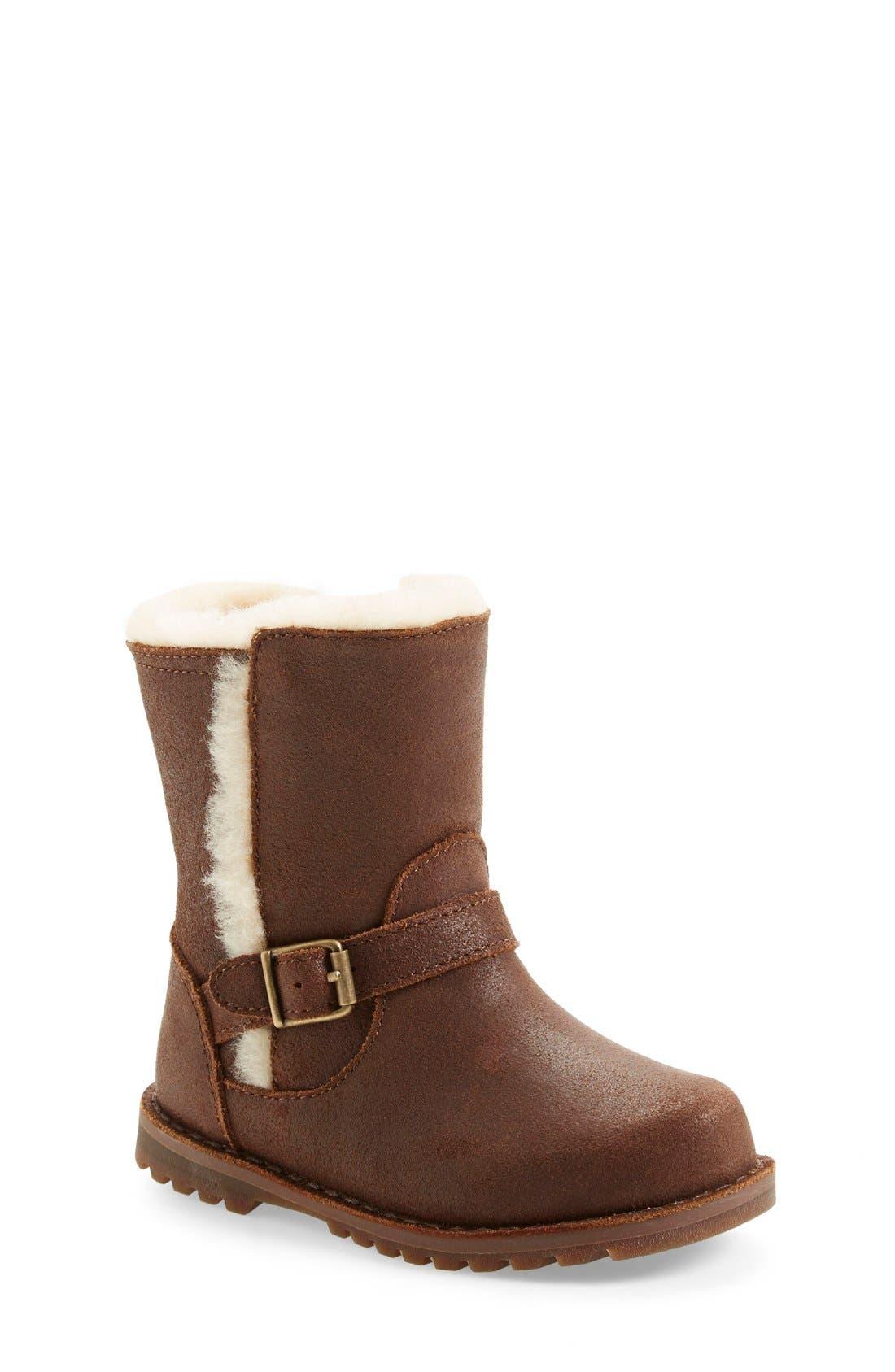 Alternate Image 1 Selected - UGG® 'Holmes' Boot (Walker & Toddler)