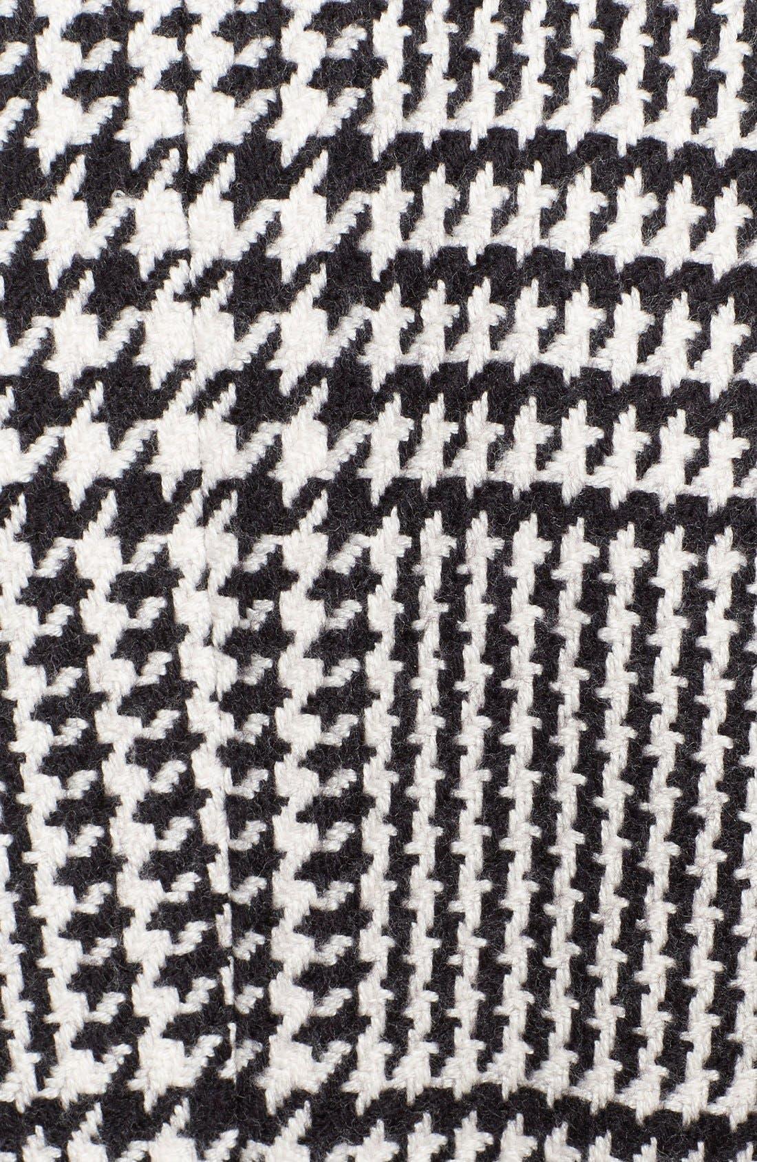 Alternate Image 4  - ESCADA Macro Houndstooth Stretch Wool Coat