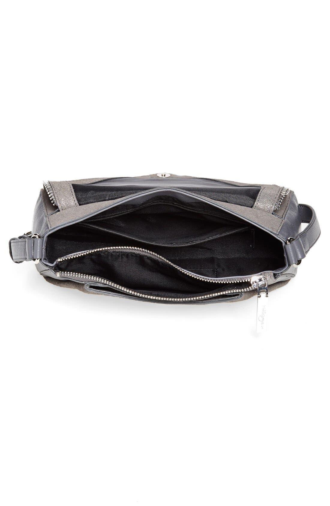 Alternate Image 4  - Halogen® Zip Detail Envelope Crossbody Bag