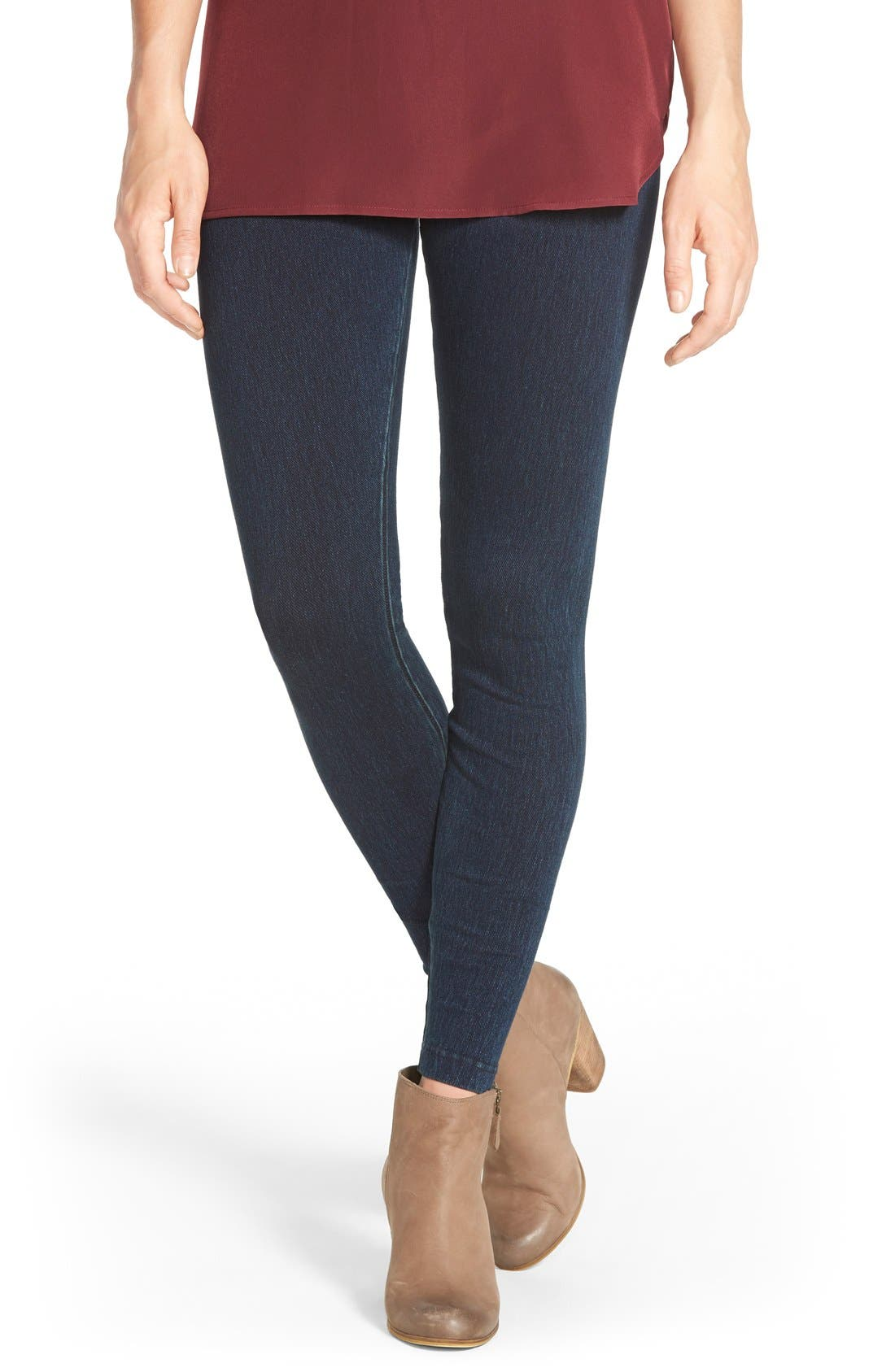 Alternate Image 1 Selected - Lyssé High Waist Denim Leggings