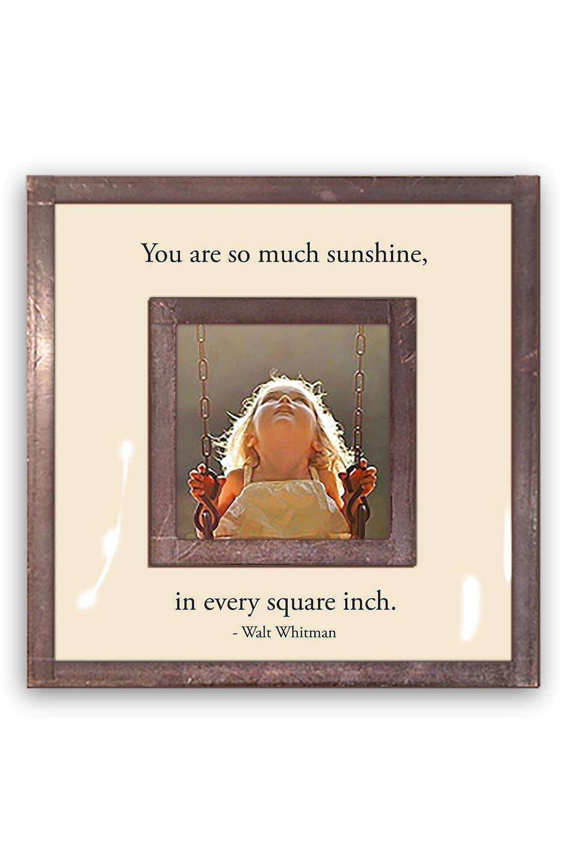 BEN'S GARDEN So Much Sunshine Picture Frame