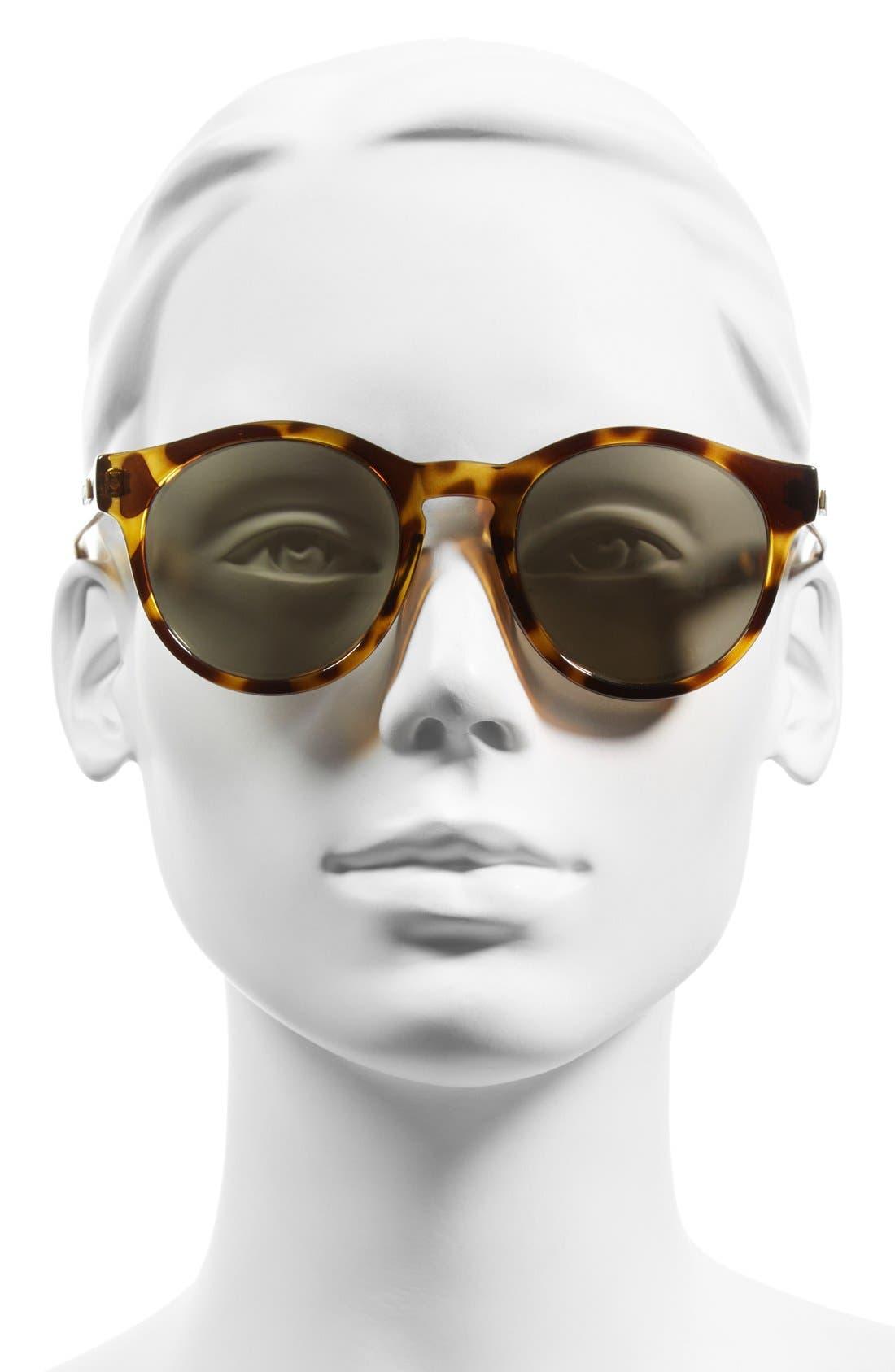 Alternate Image 2  - Le Specs Hey Macarena 51mm Round Sunglasses