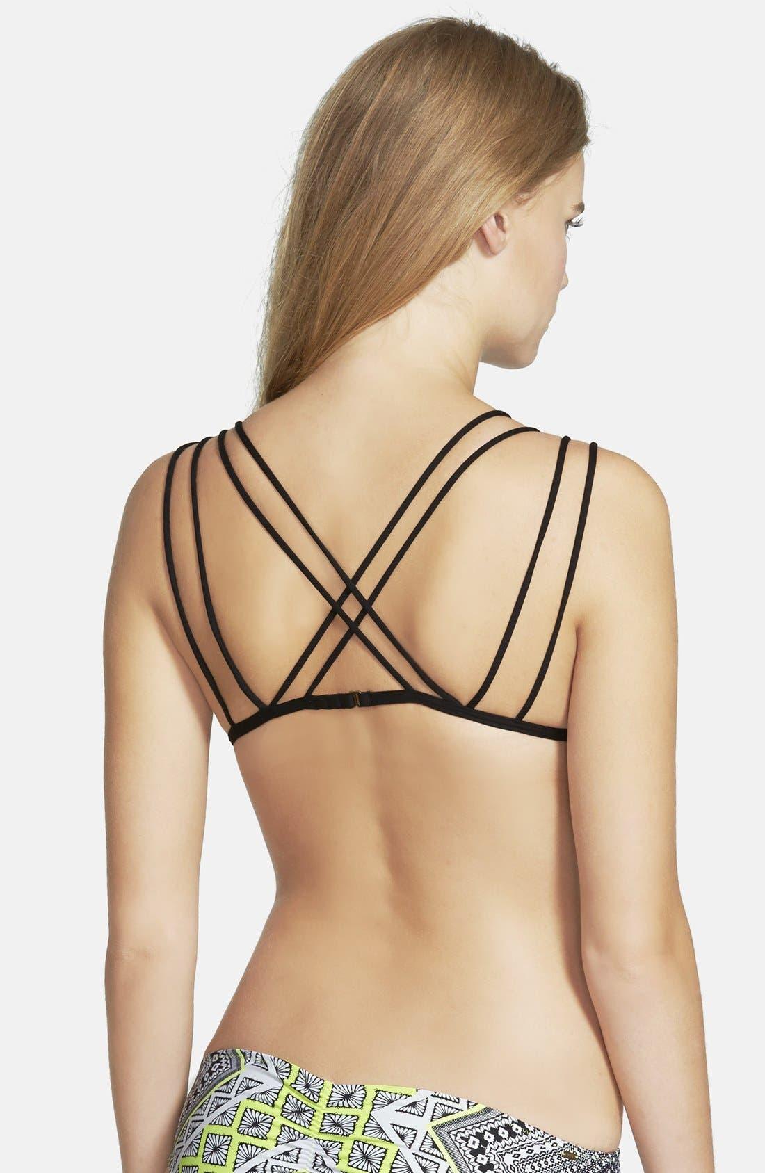 Alternate Image 2  - Rip Curl 'Gypsy Road' Triangle Bikini Top (Juniors)