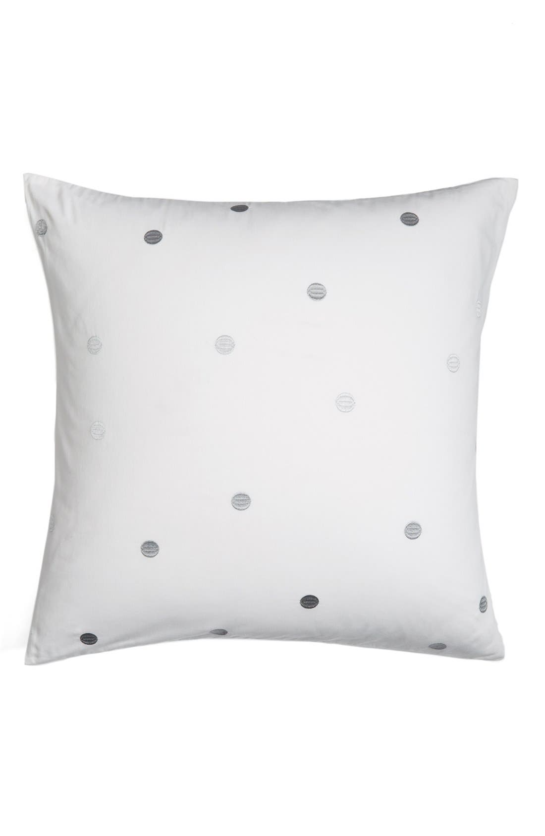 kate spade new york 'deco dot' euro sham