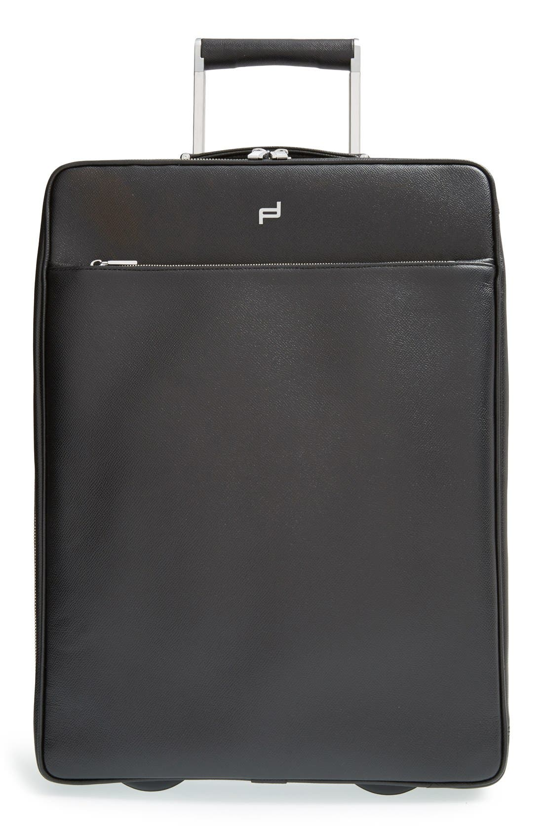 PORSCHE DESIGN 'French Classic 3.0' Wheeled Leather Carry-On