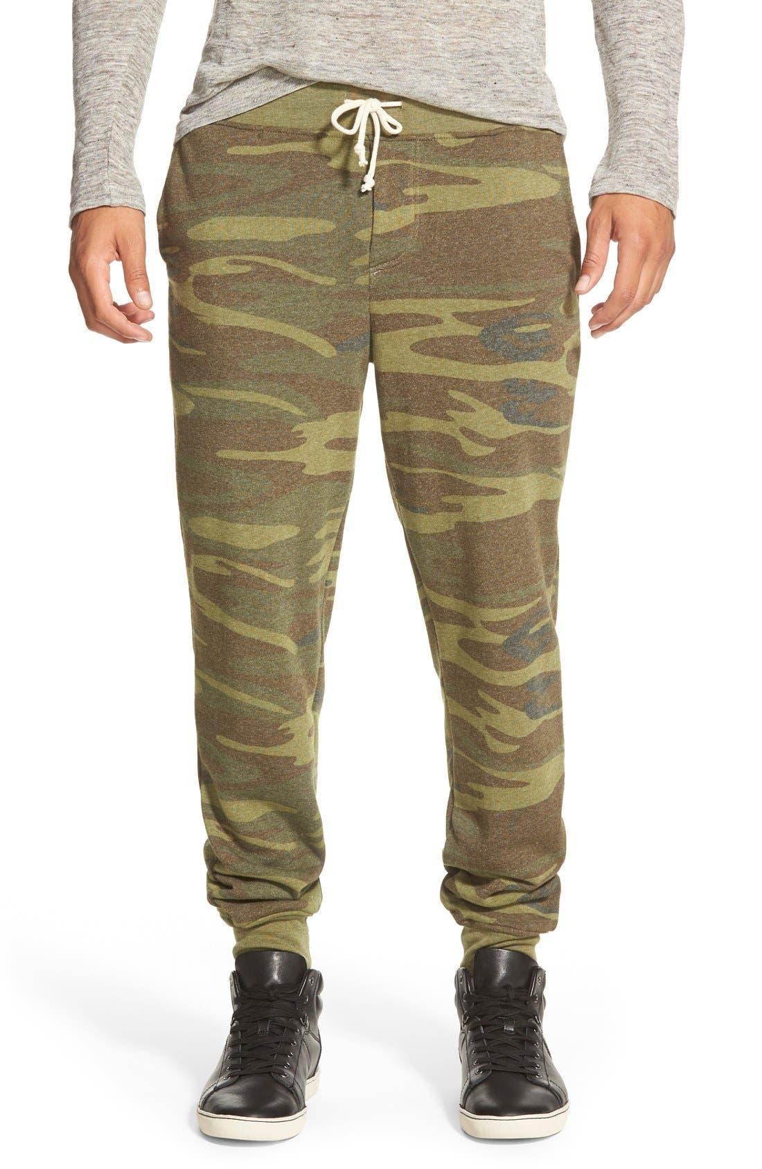 Alternative 'Dodgeball' Camo Print Sweatpants