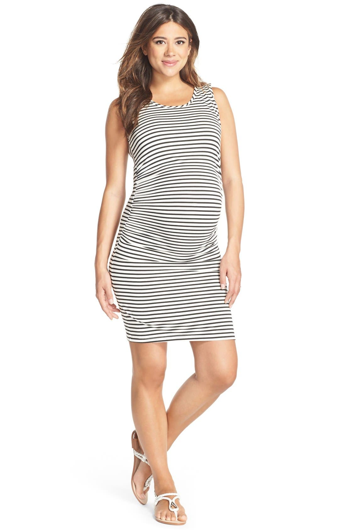 LAB40 Maternity/Nursing Tank Dress