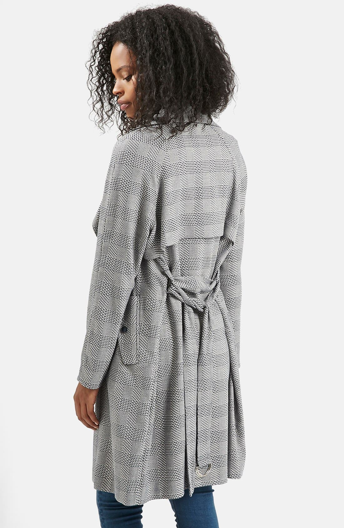Alternate Image 3  - Topshop Belted Trench