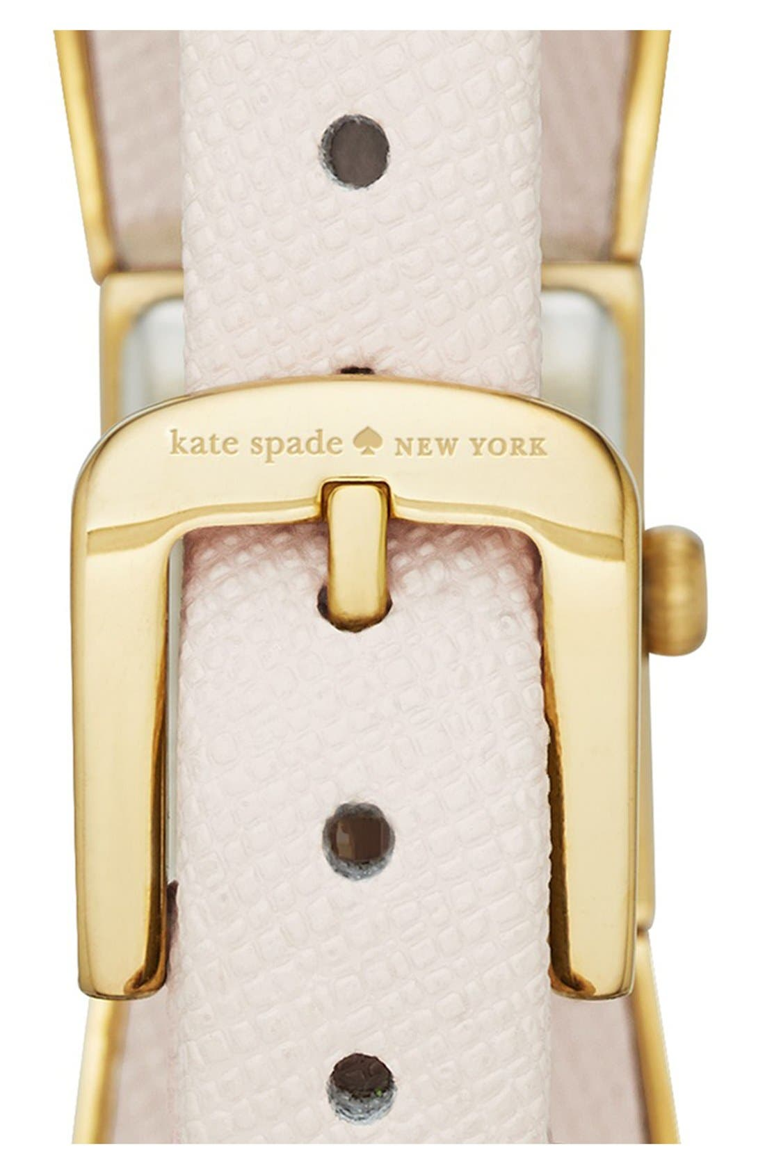 Alternate Image 3  - kate spade new york 'kenmare' bow case watch, 20mm