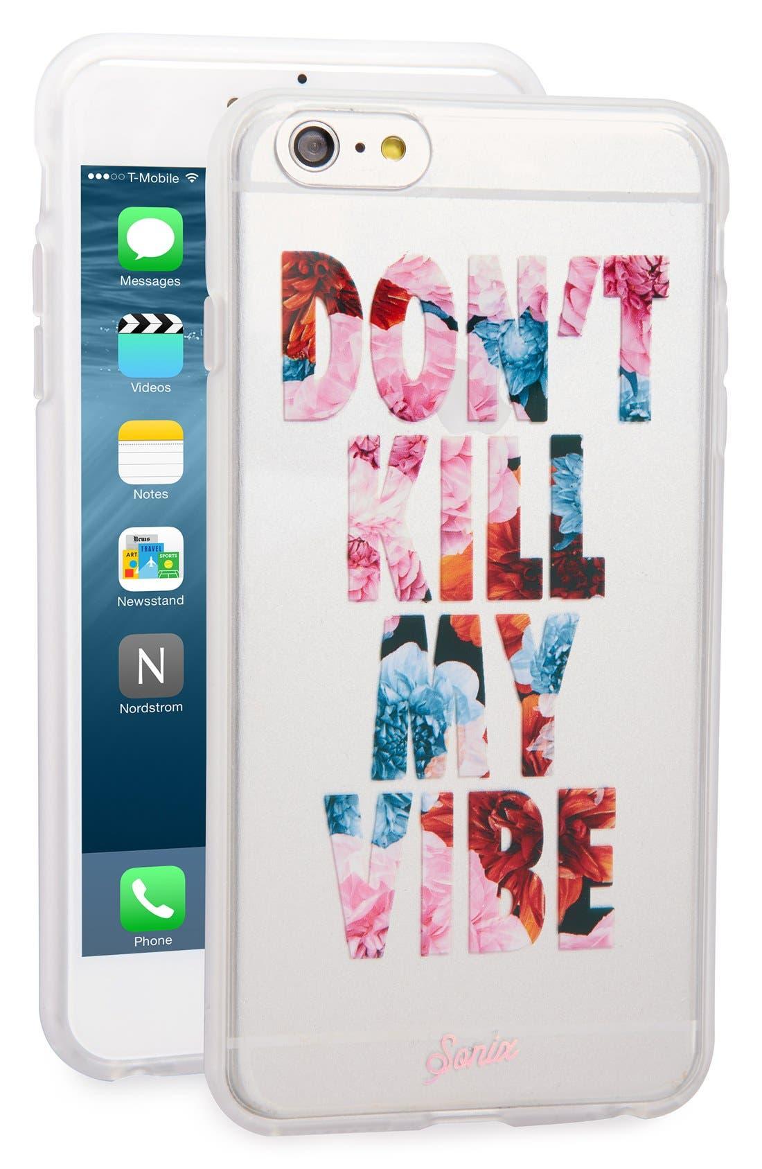 Main Image - Sonix 'Don't Kill My Vibe' iPhone 6 Plus & 6s Plus Case