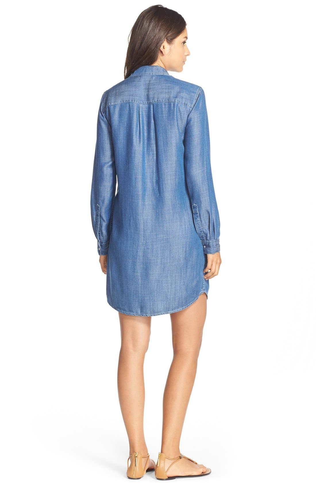 Alternate Image 2  - Tart 'Jenine' Chambray Shirtdress