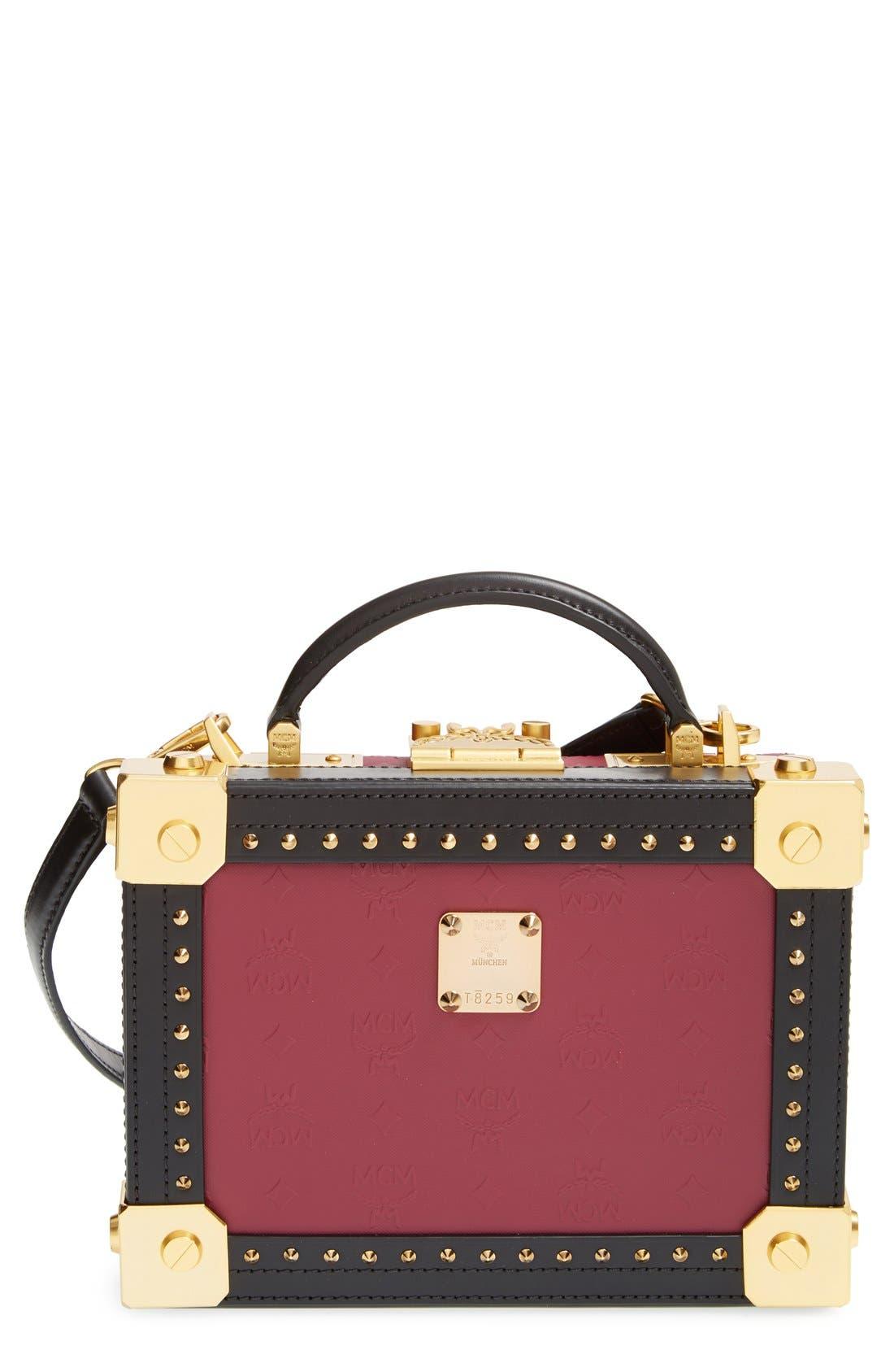 Alternate Image 1 Selected - MCM 'Berlin Series' Box Crossbody Bag