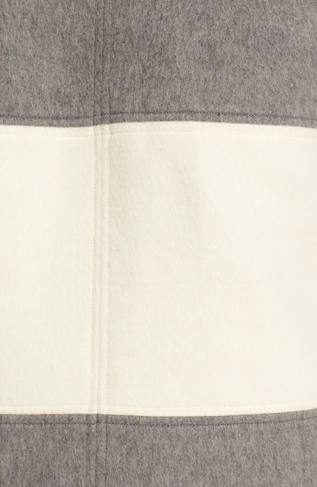 Alternate Image 3  - Parker 'Hurley' BlanketStripe Wool Coat