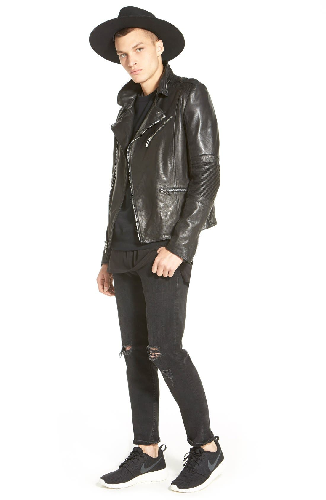 Alternate Image 8  - rag & bone Standard Issue 'Fit 1' Skinny Fit Jeans (Rock with Holes)