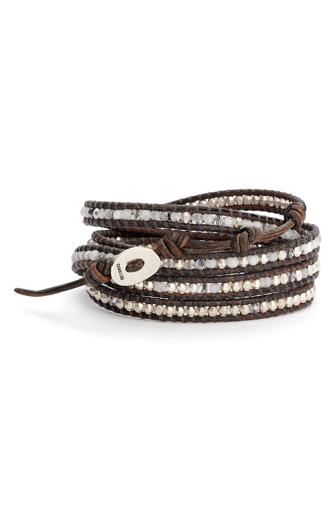 Alternate Image 1 Selected - Chan Luu Leather Wrap Bracelet
