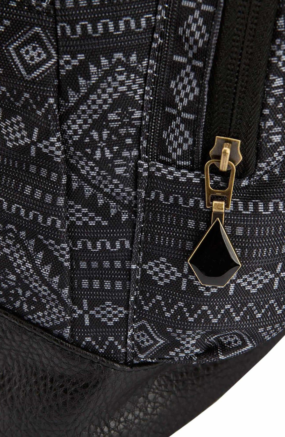 Alternate Image 3  - Volcom 'Schoolyard' Print Backpack