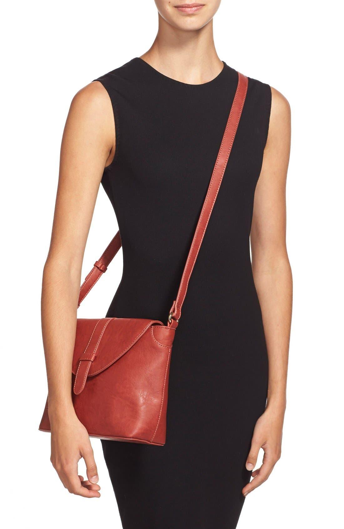 Alternate Image 2  - Sole Society 'Brady' Faux Leather Crossbody Bag