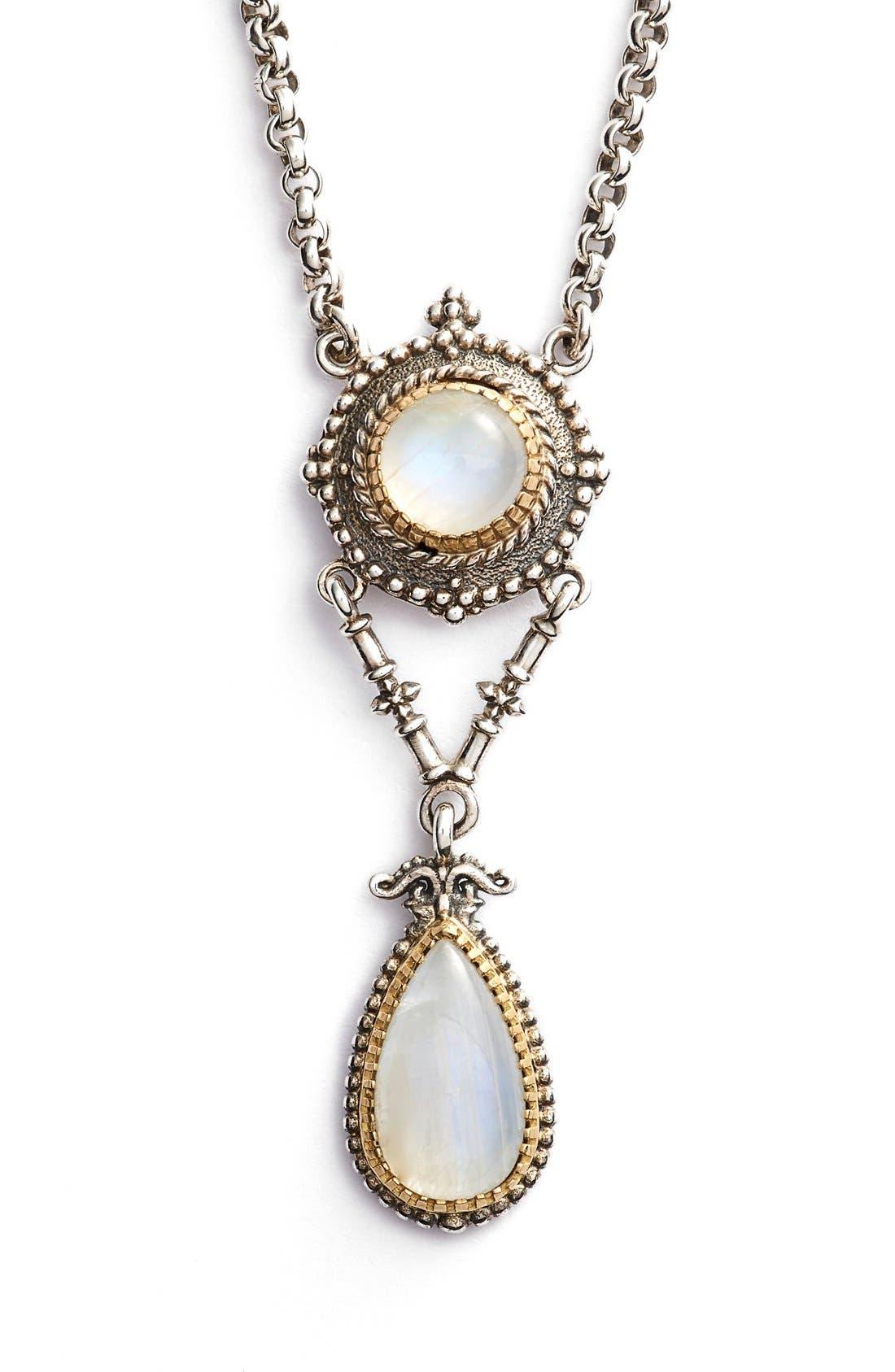 Main Image - Konstantino 'Erato' Two Stone Drop Necklace