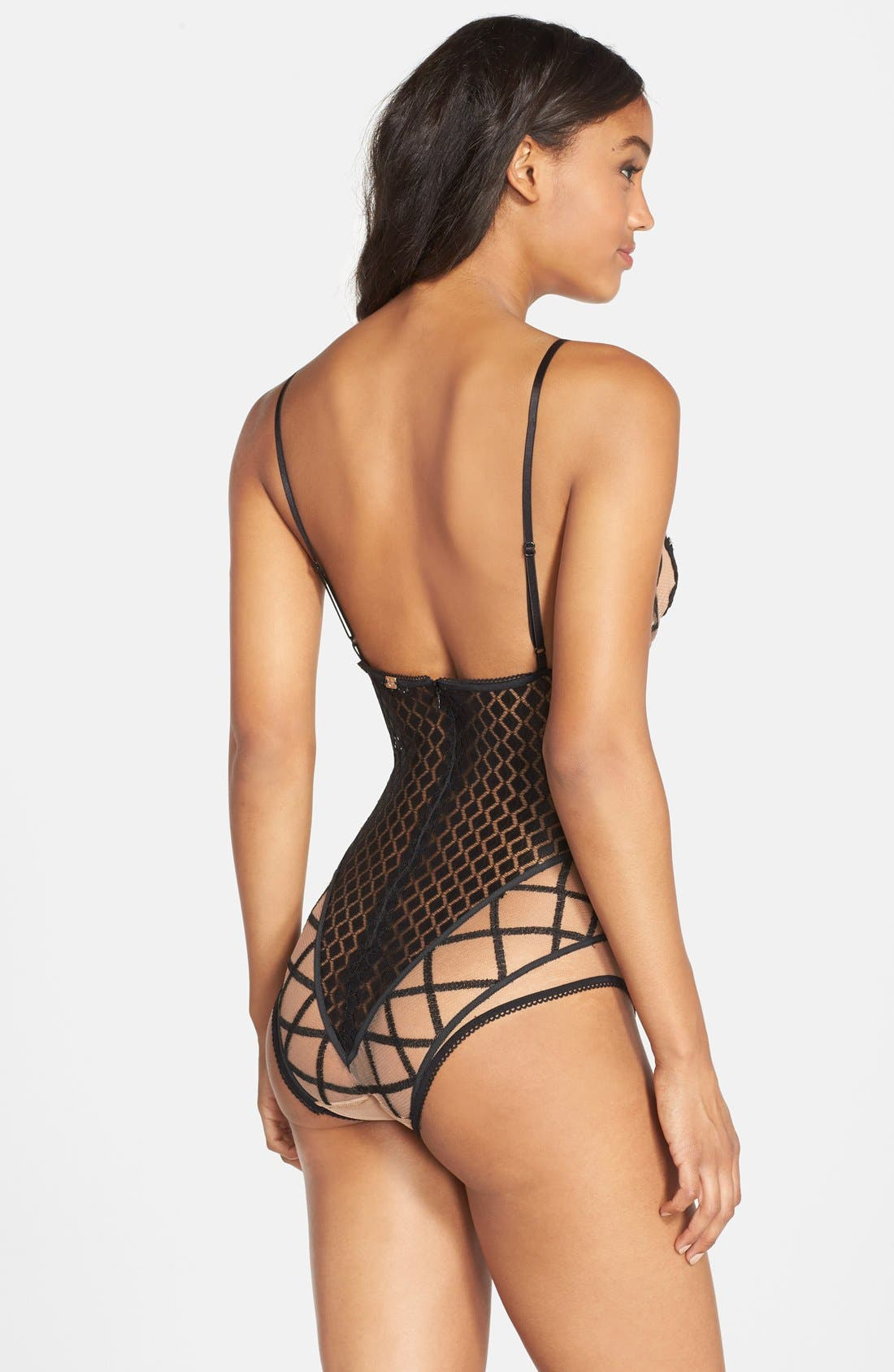 Alternate Image 2  - For Love & Lemons 'Delilah' Underwire Bodysuit