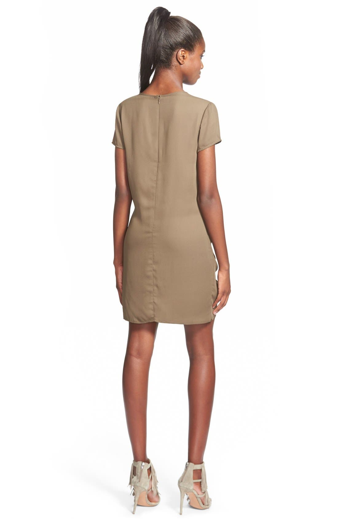 Alternate Image 2  - Love SadieTie Front Shift Dress