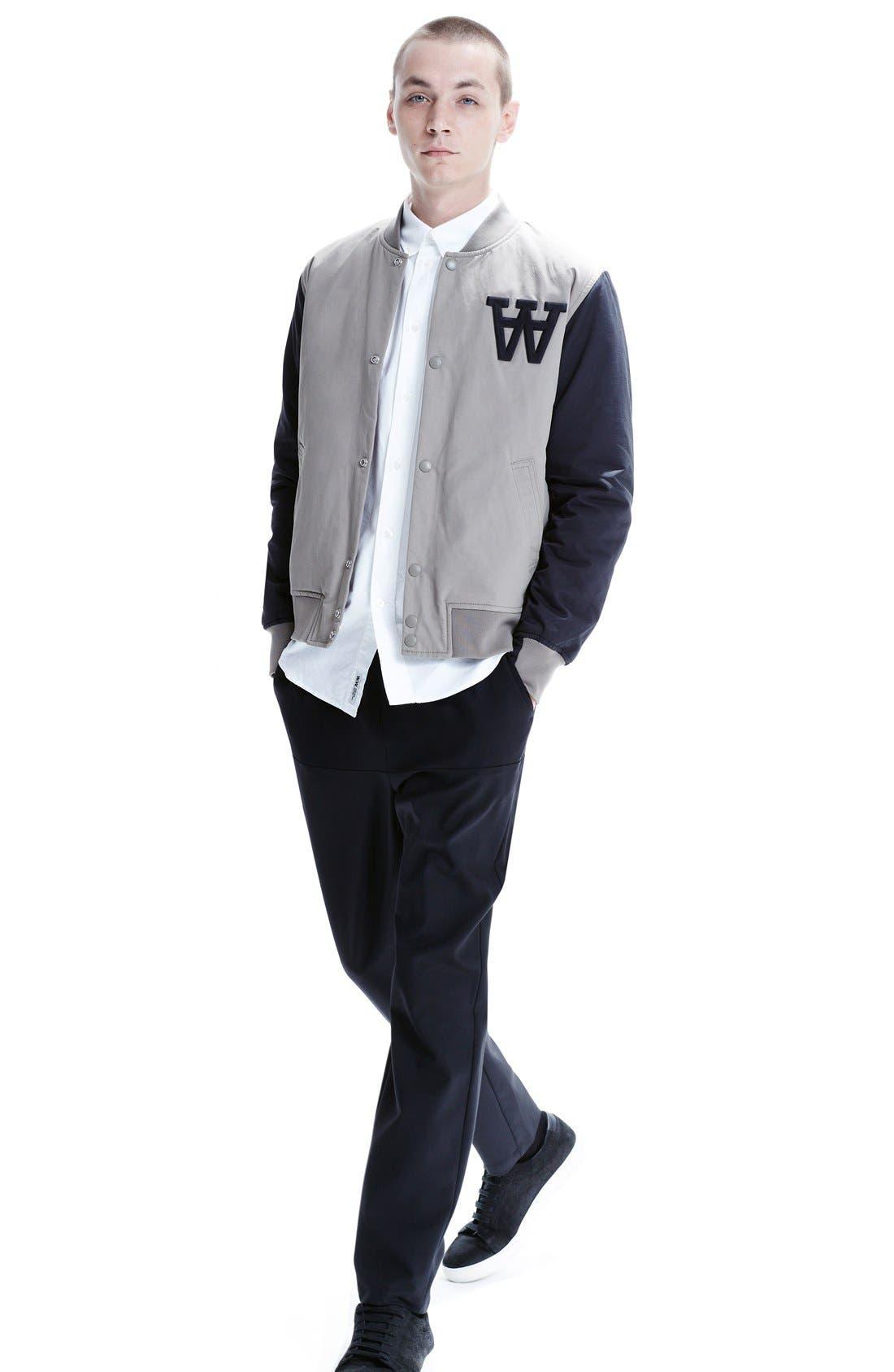 Alternate Image 6  - Wood Wood 'Billie' Varsity Jacket