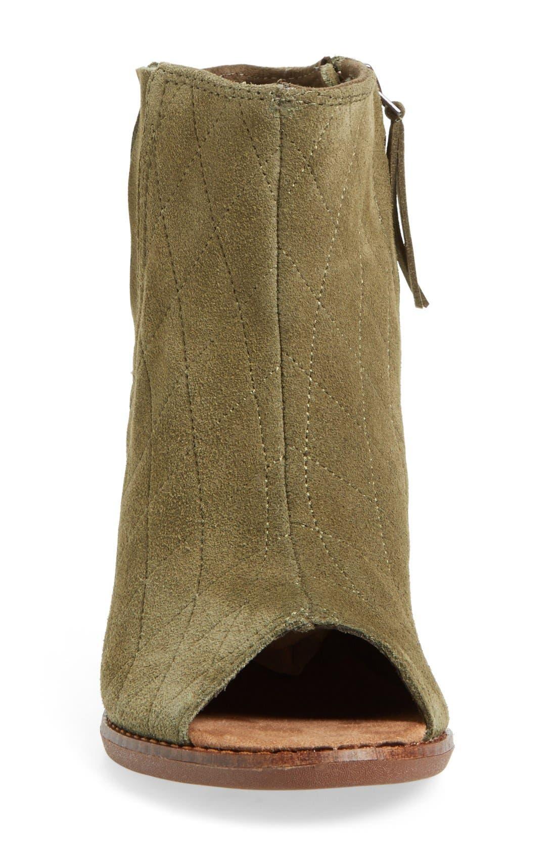 Alternate Image 3  - TOMS 'Majorca' Peep Toe Bootie (Women)