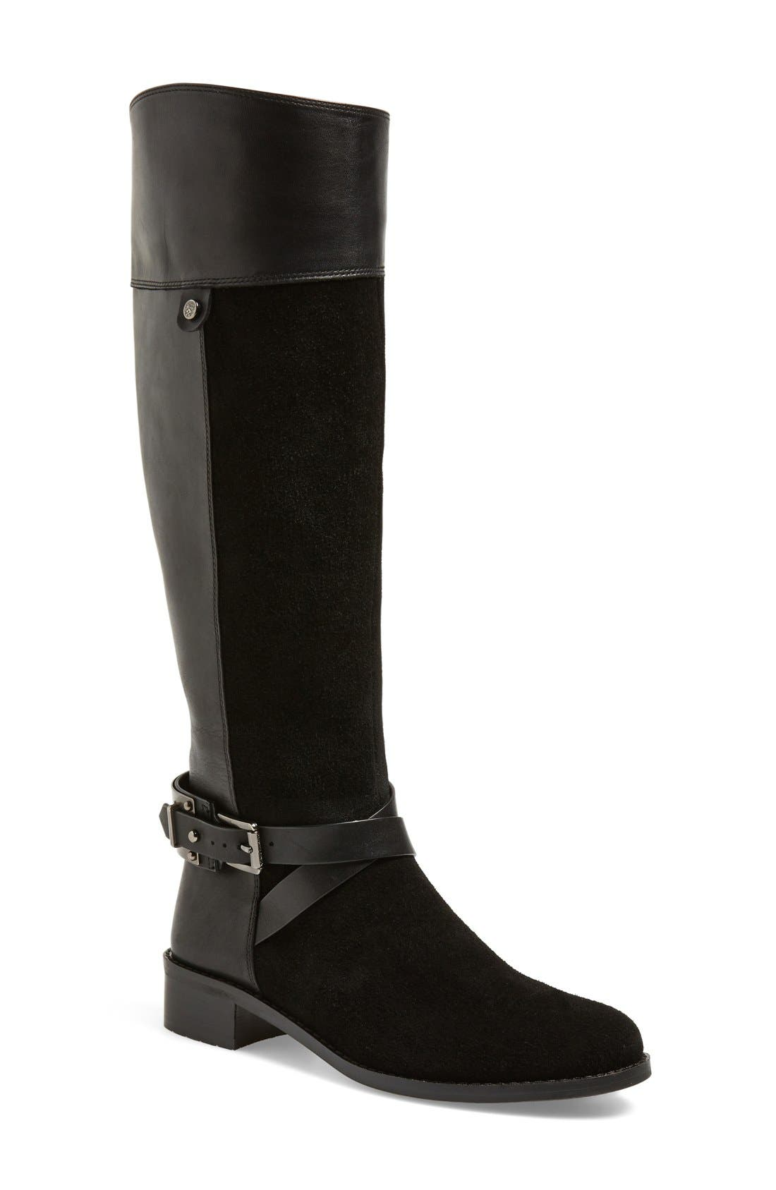 Alternate Image 1 Selected - Vince Camuto 'Jaran' Riding Boot (Women)
