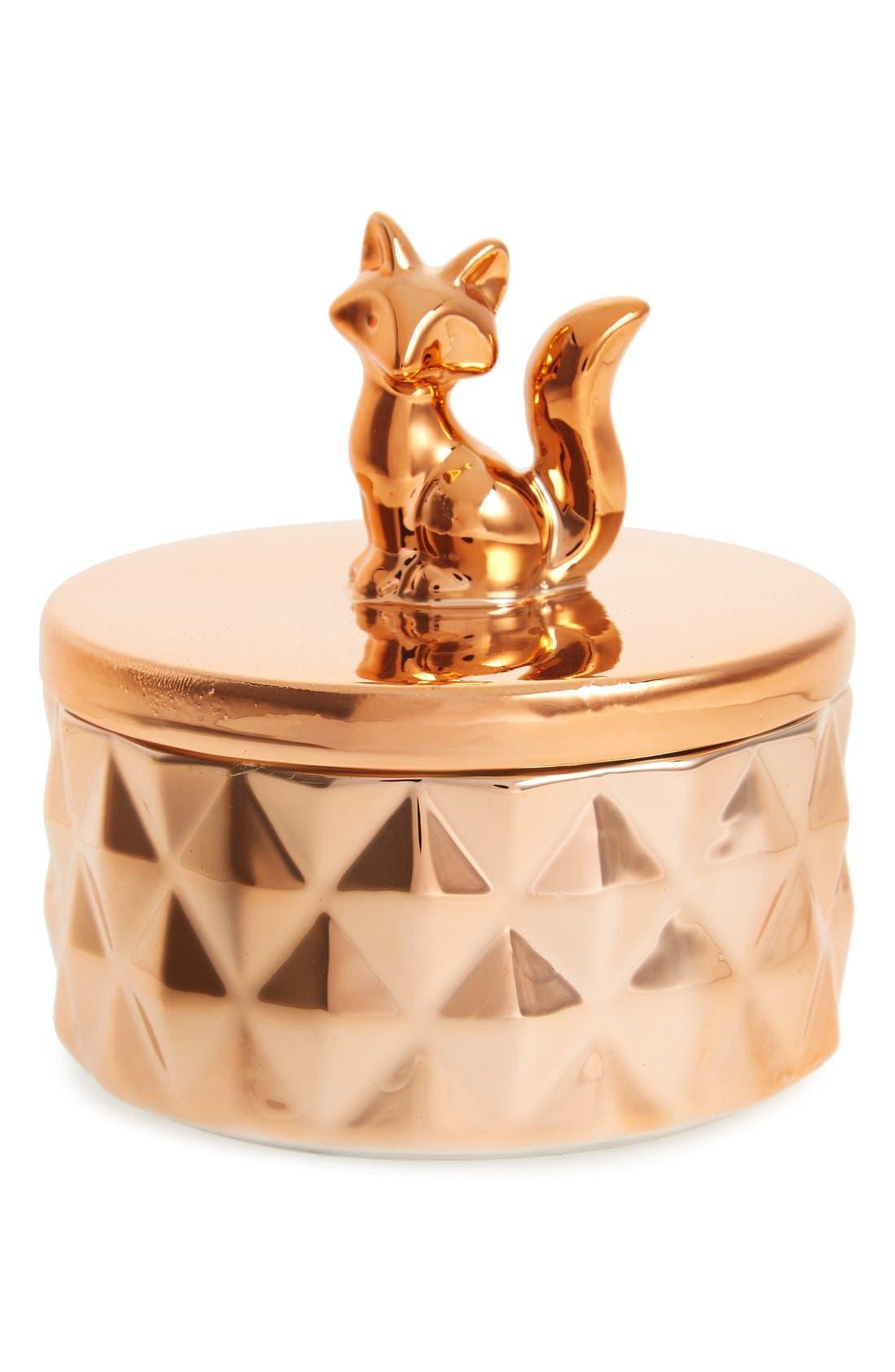 Alternate Image 1 Selected - DCIFox Ceramic Box