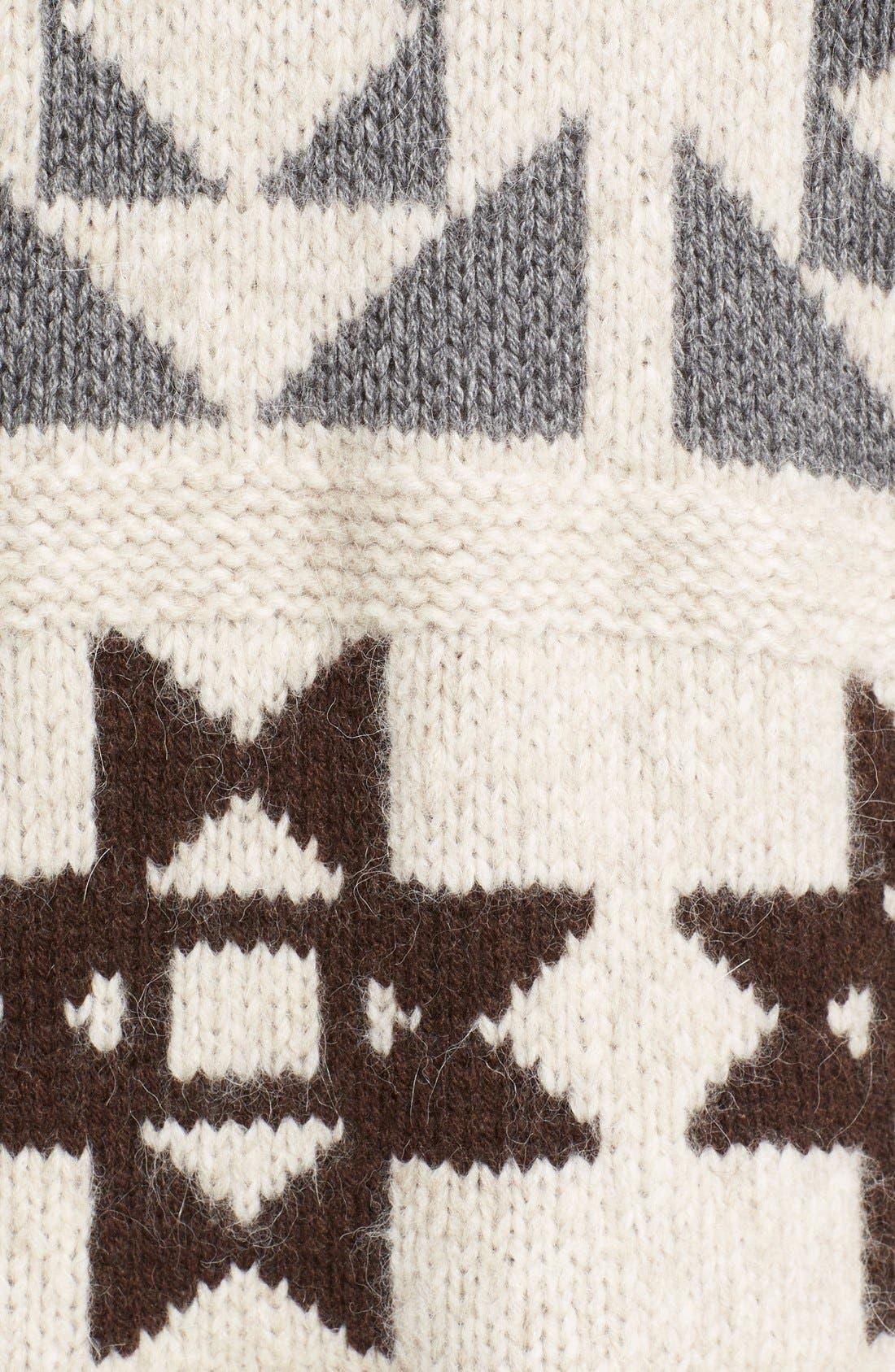 Alternate Image 5  - Loma'Raine' Alpaca BlendSweater