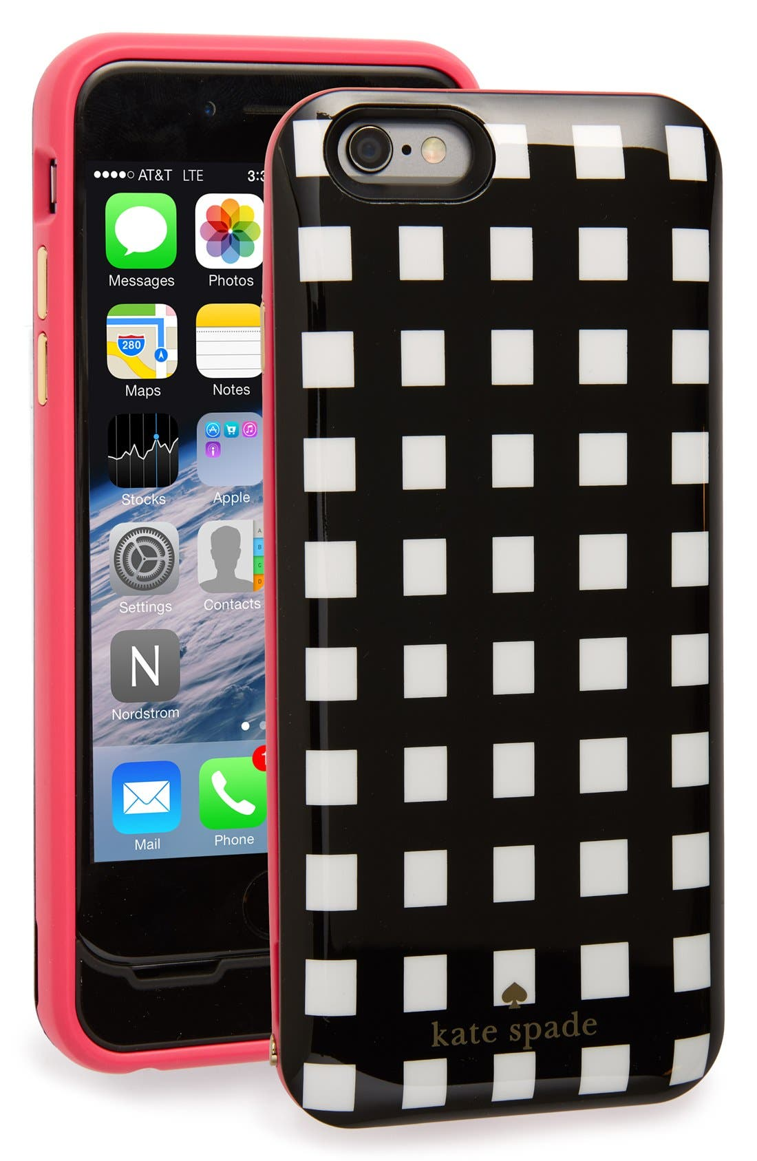 Alternate Image 1 Selected - kate spade new york iPhone 6 & 6s charging case